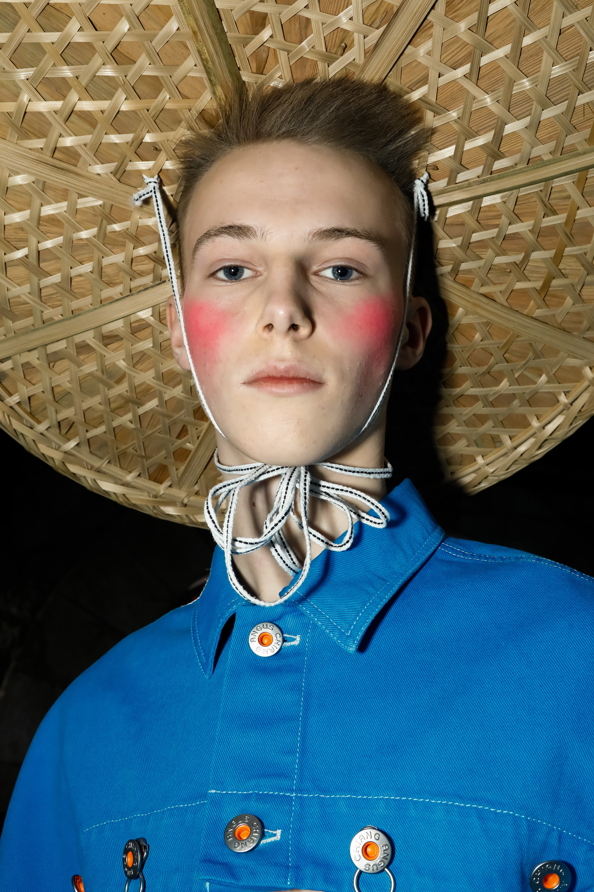 Angus Chiang Menswear Collection Fall Winter 2019 Paris Fashion Week bonnet