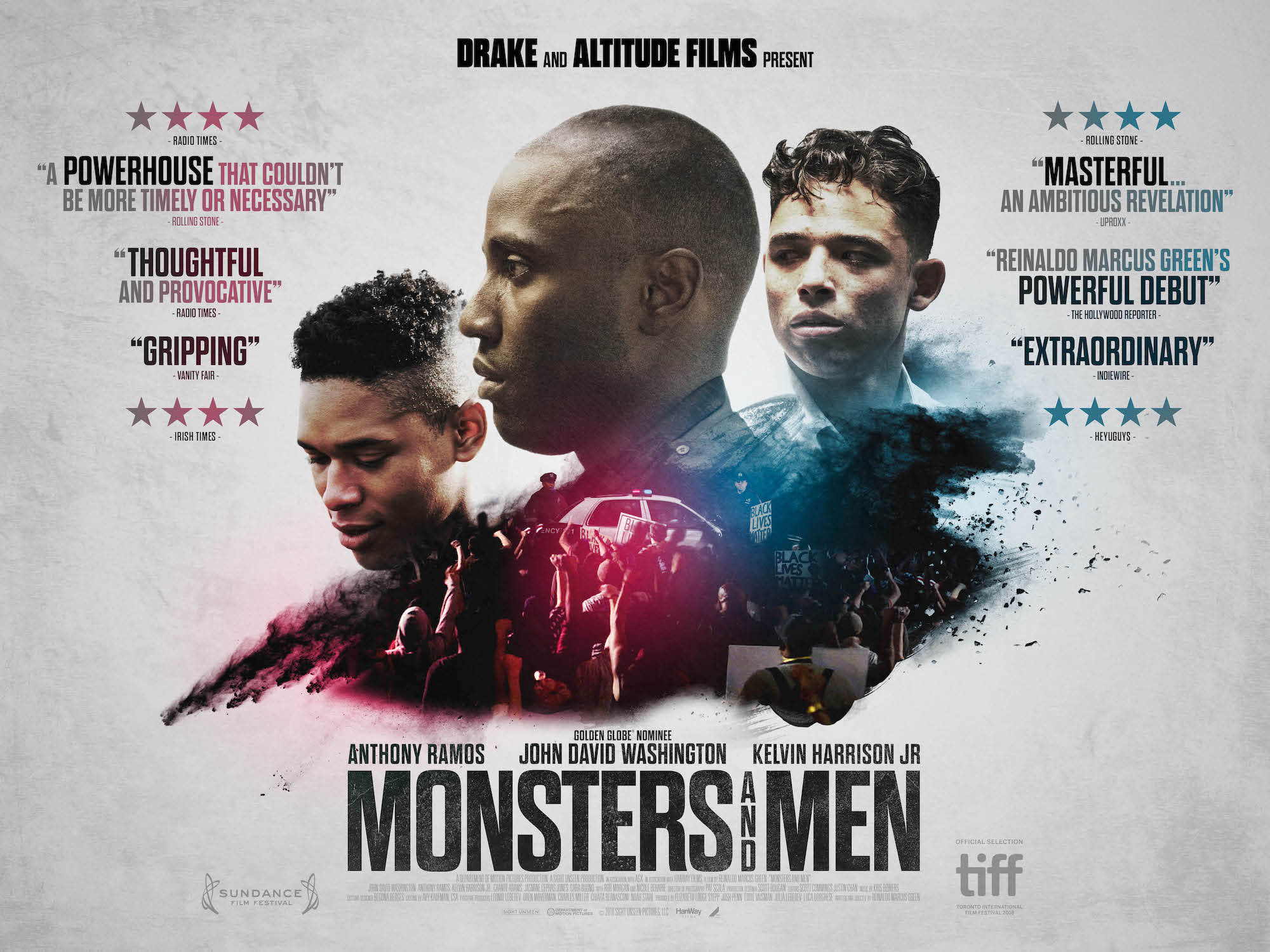Monsters and Men film poster horizontal
