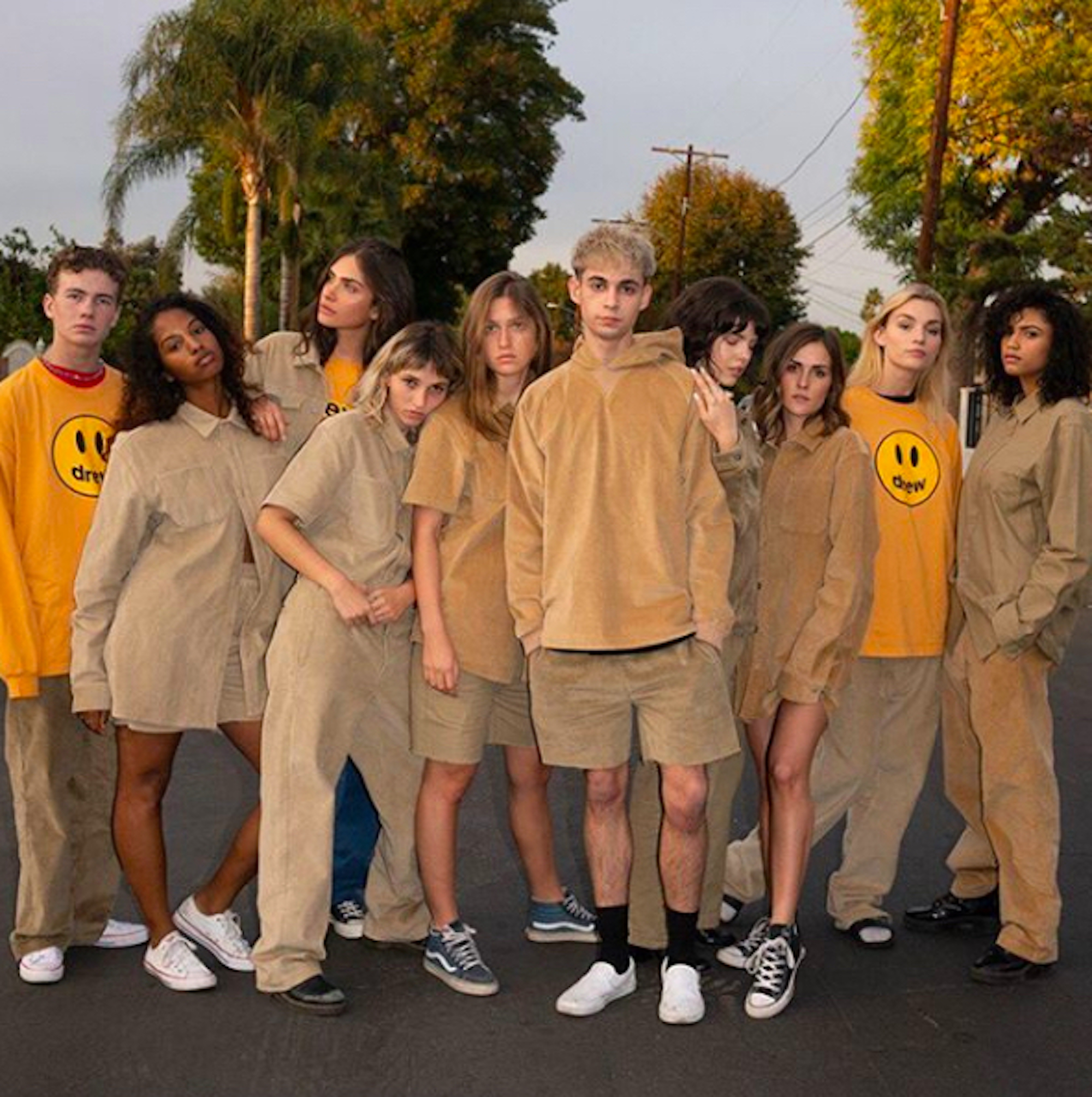 Justin Bieber's Drew House lookbook imagery