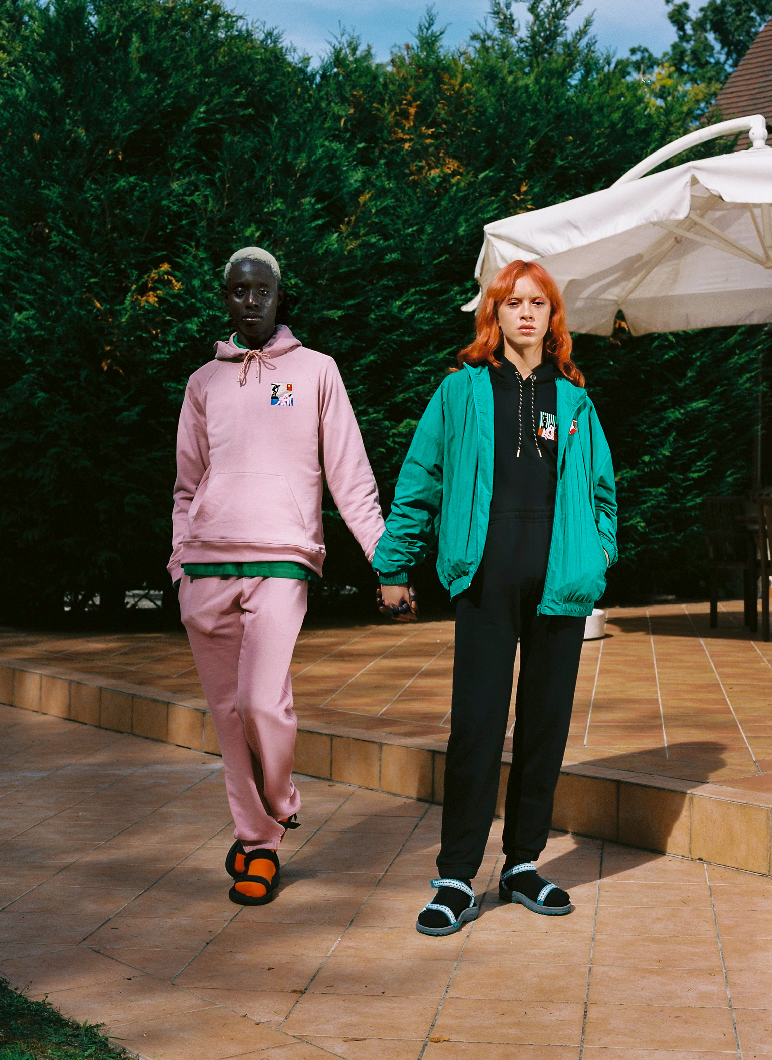 Carne Bollente SS19 hoodie and bomber jacket