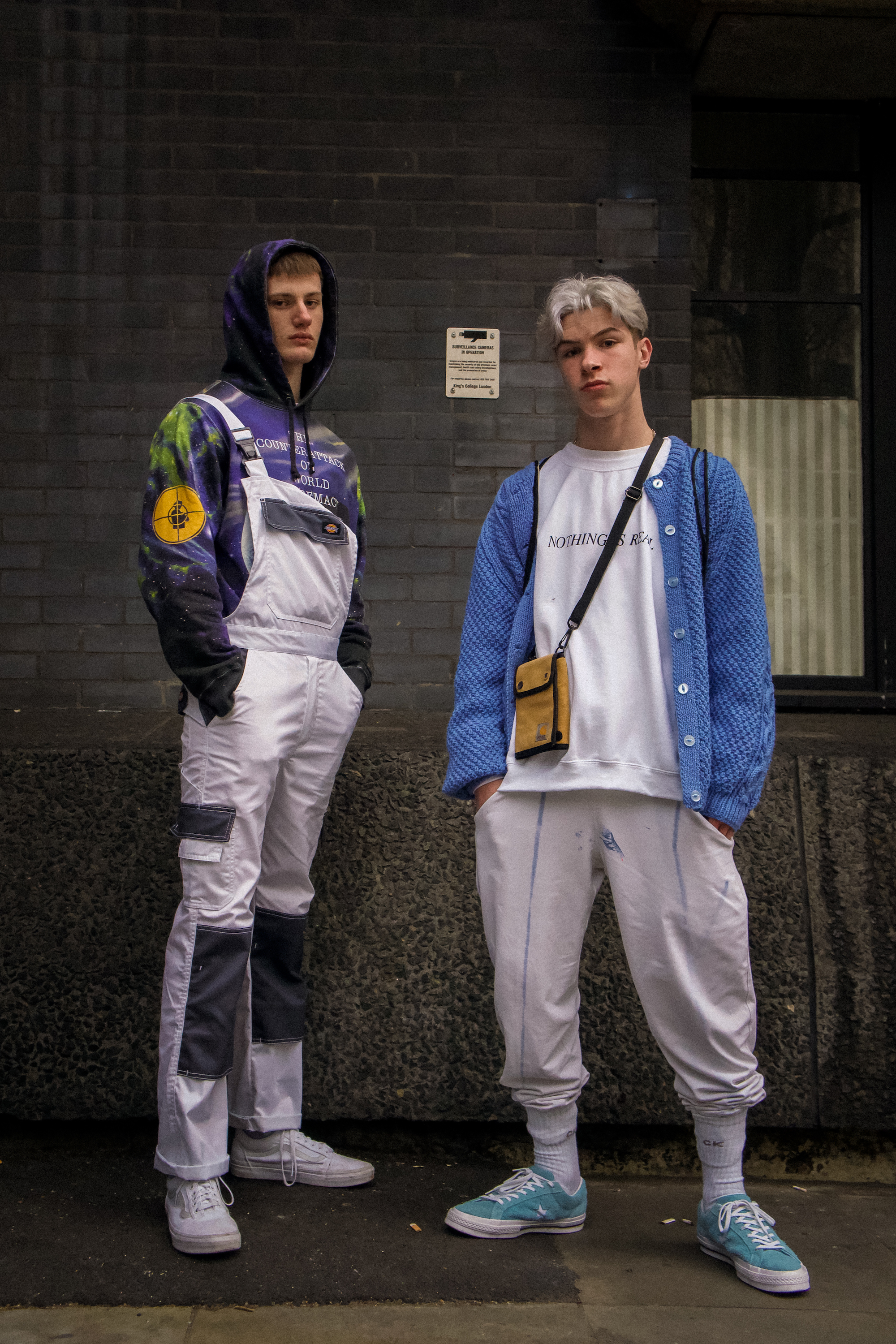 London fashion week Dillon Noyce + Gus Burgess
