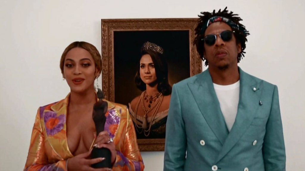 Beyonce and Jay Z acceptance speech at BRITs 2019