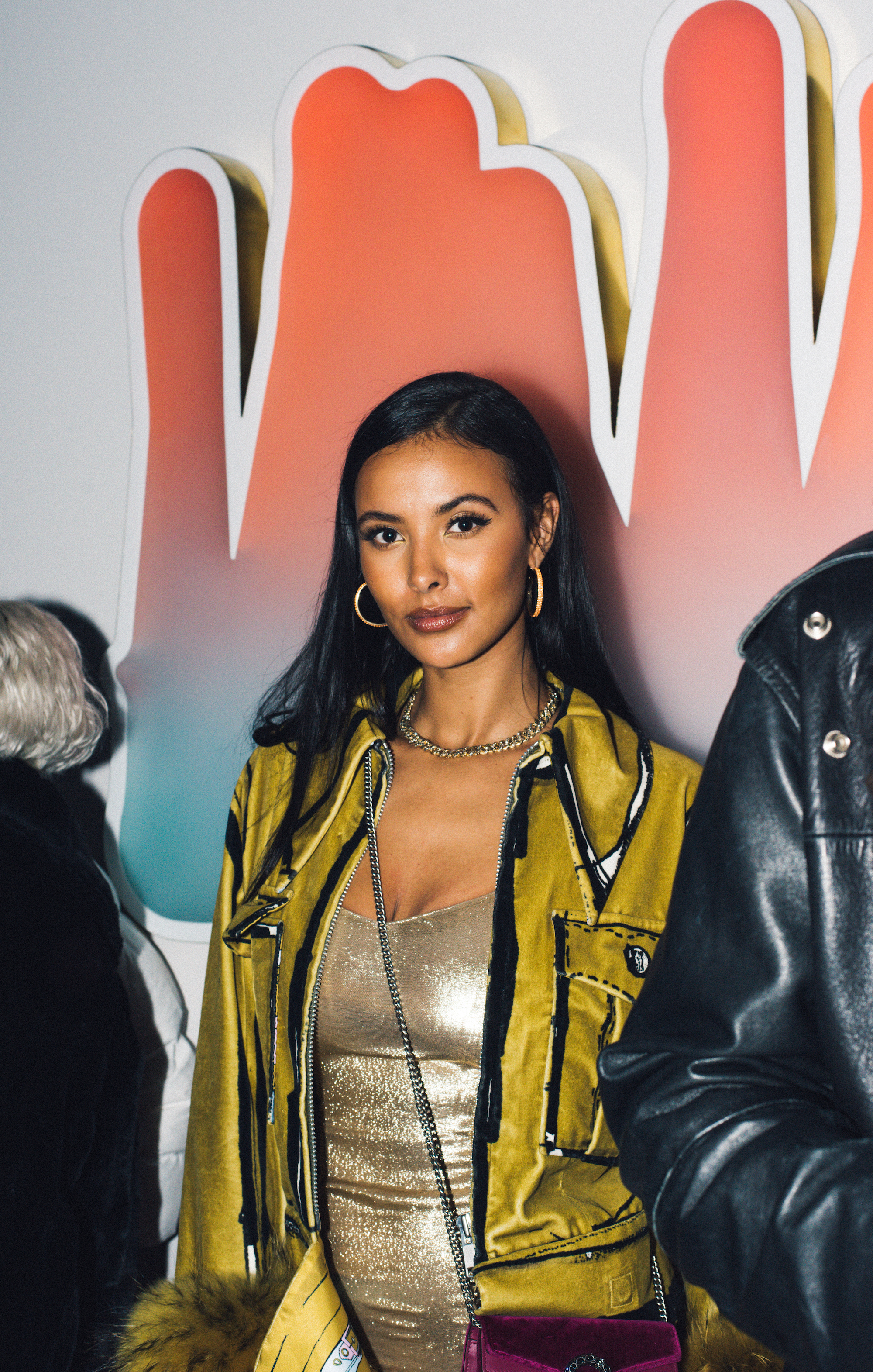 Wonderland x Christian Louboutin LFW party Maya Jama