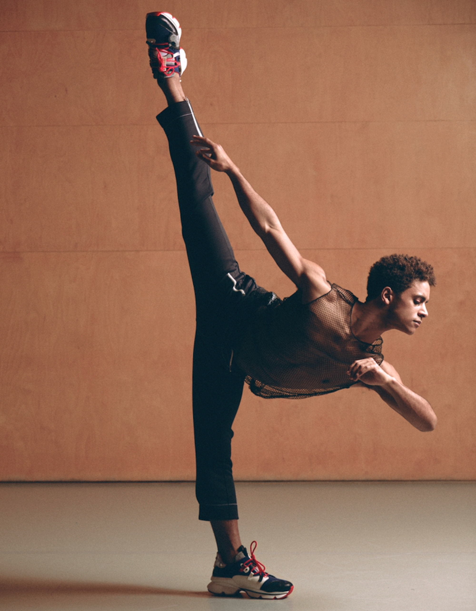 Christian Louboutin dancer Marcelino Sambe