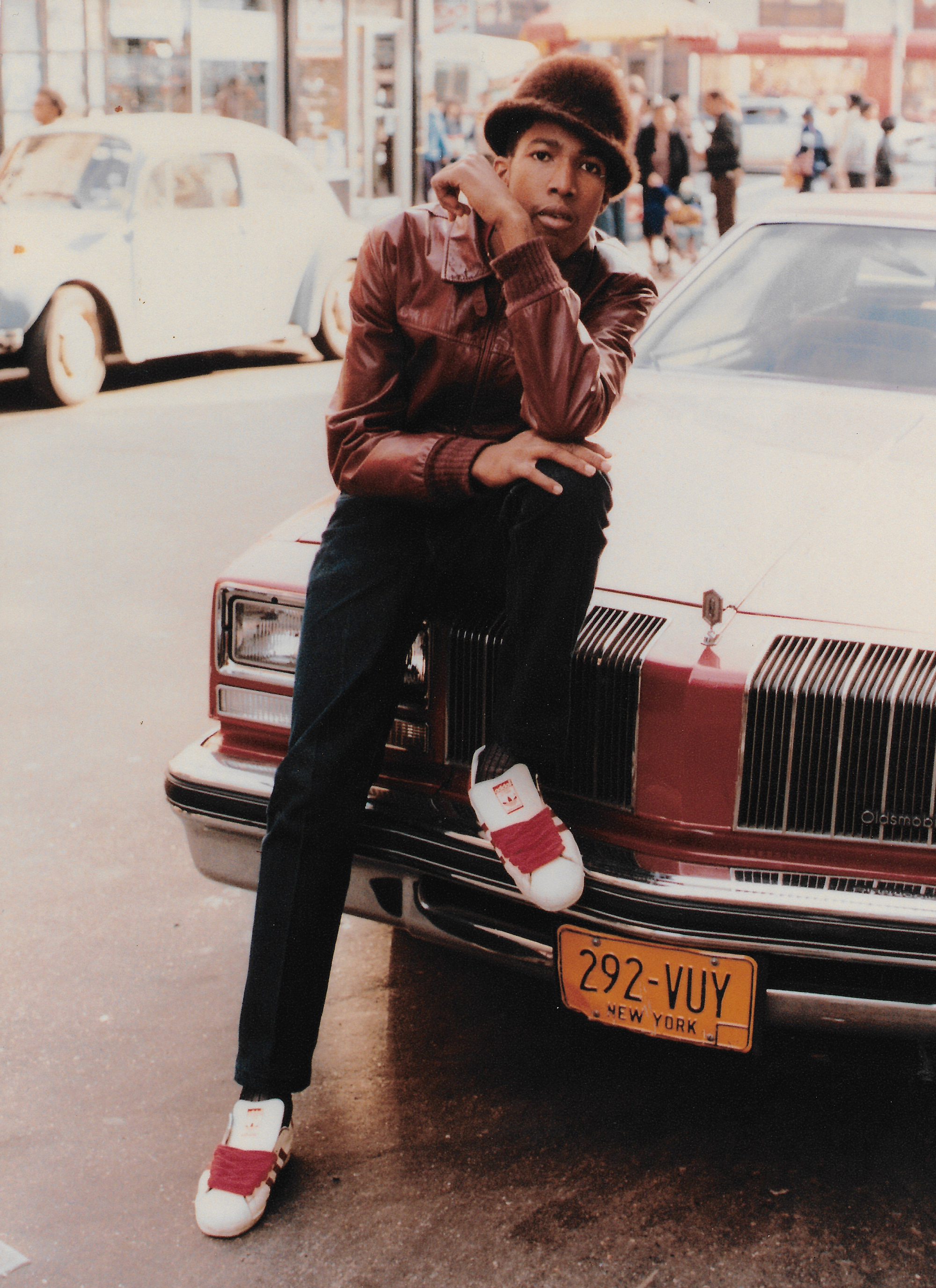 Jamel Shabazz vintage images bonnet car