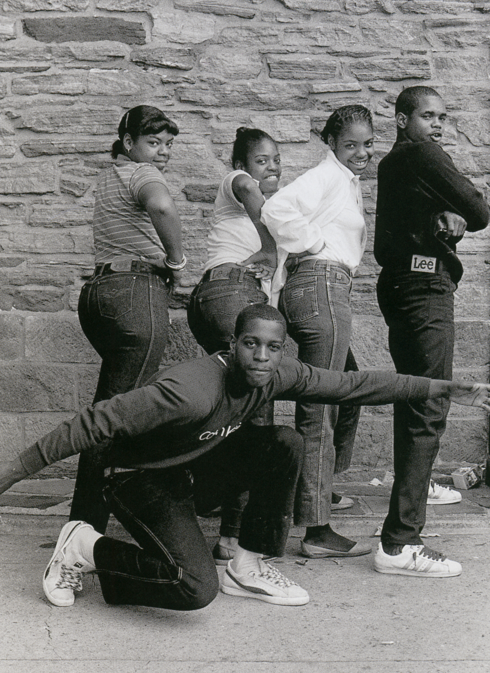 Jamel Shabazz vintage images group
