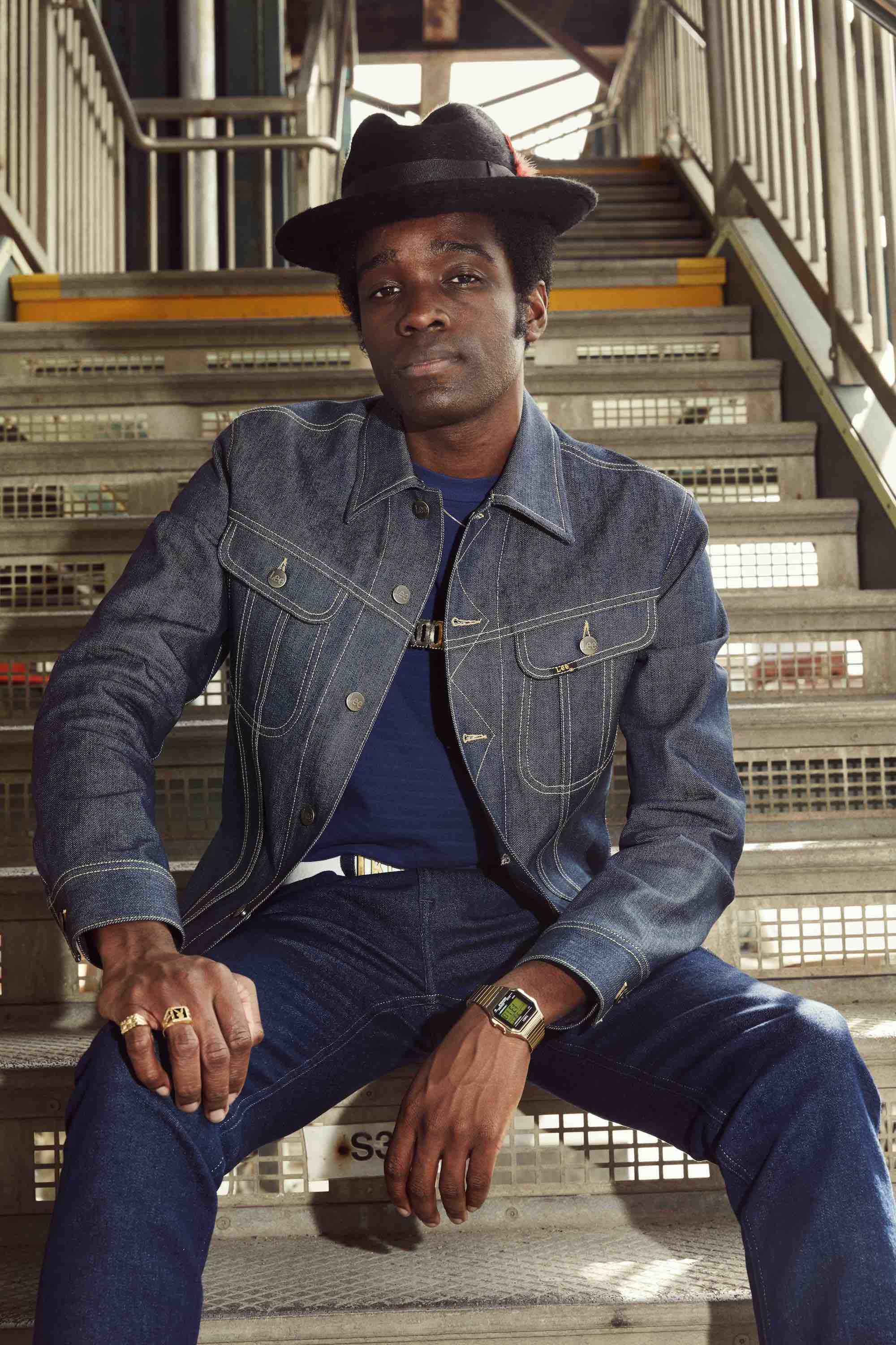 Lee Jeans SS19 campaign double denim