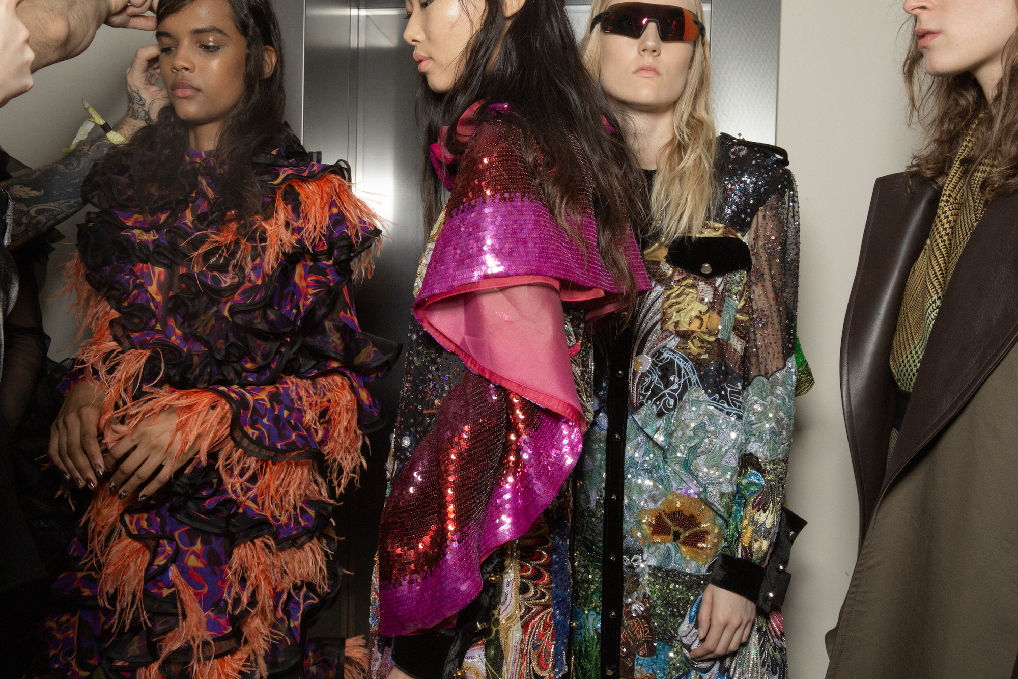 Mary Katrantzou LFW AW19 Wonderland
