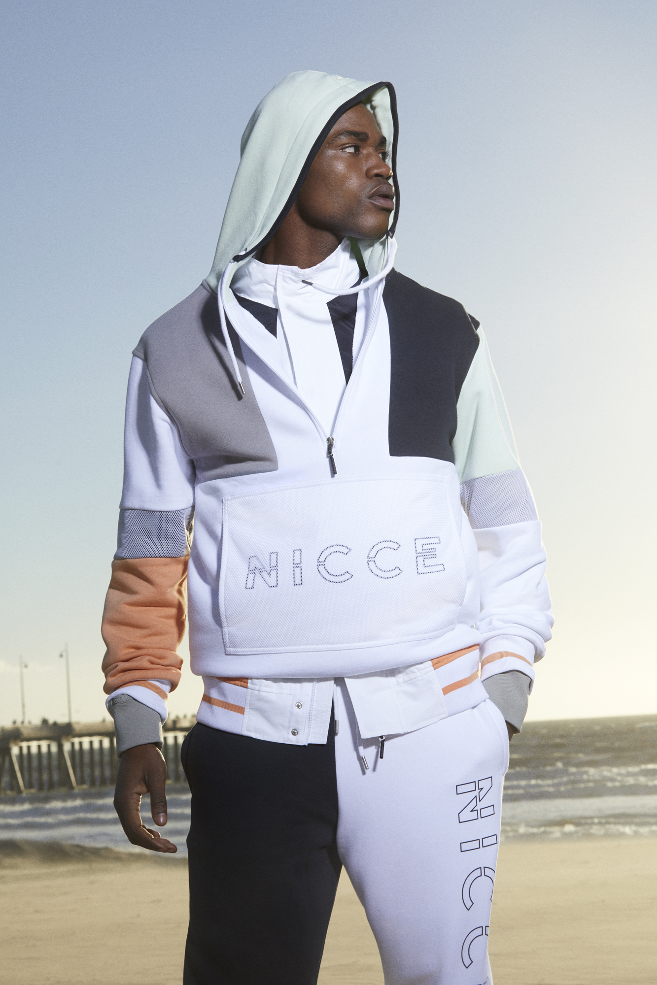 NICCE's new limited edition capsule collection White Label zip up