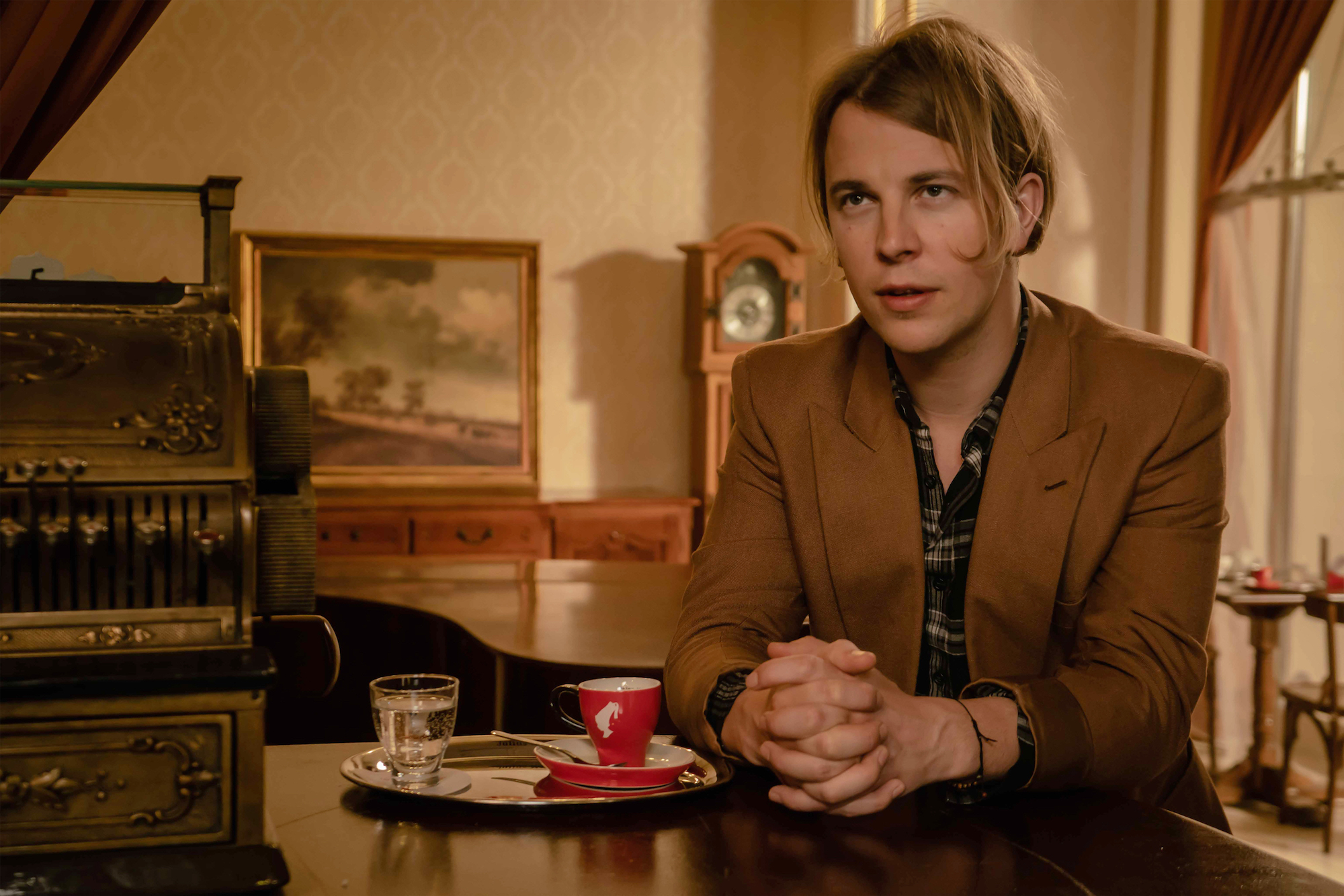 Tom Odell for Pours for Inspiration campaign landscape