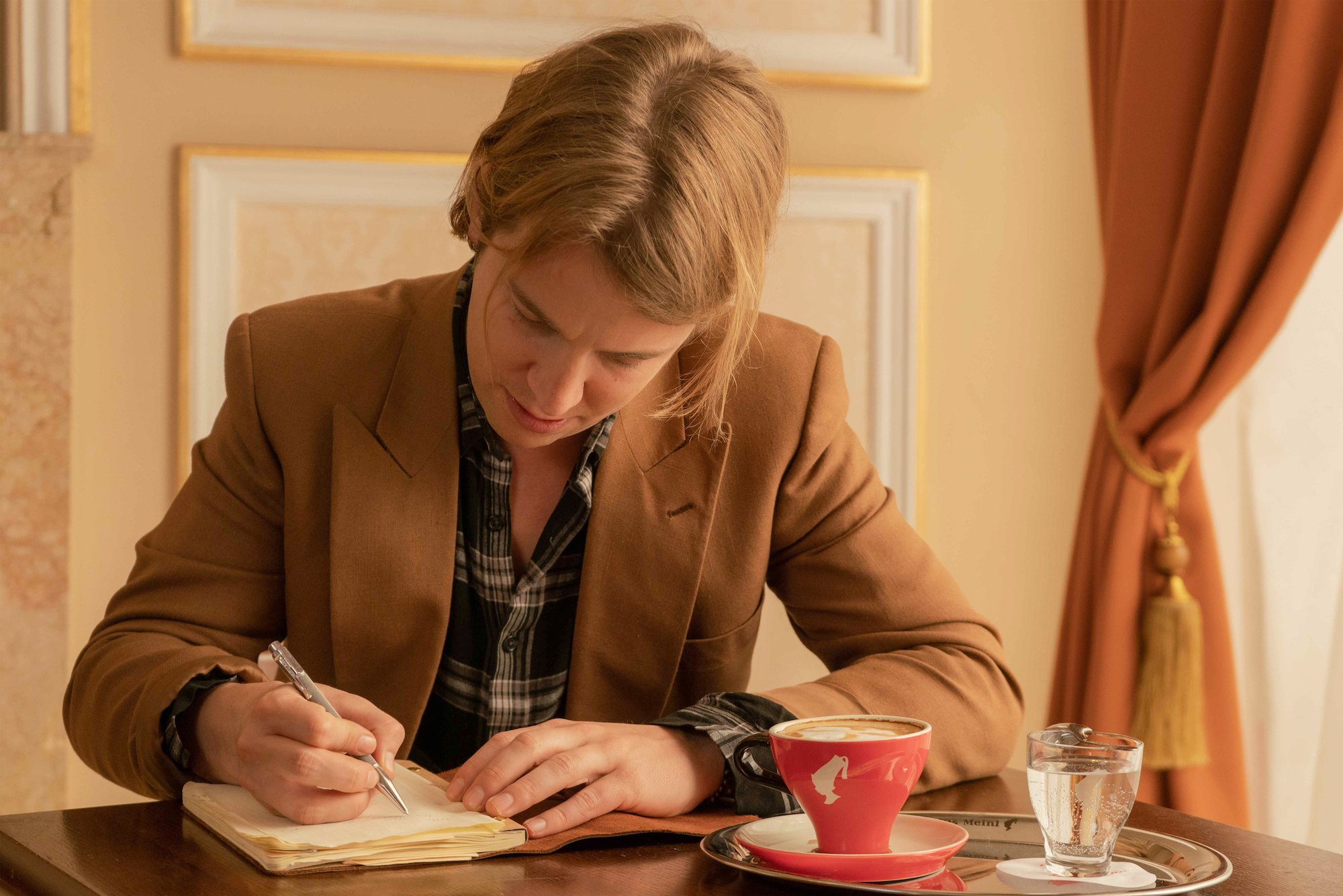 Tom Odell for Pours for Inspiration campaign writing