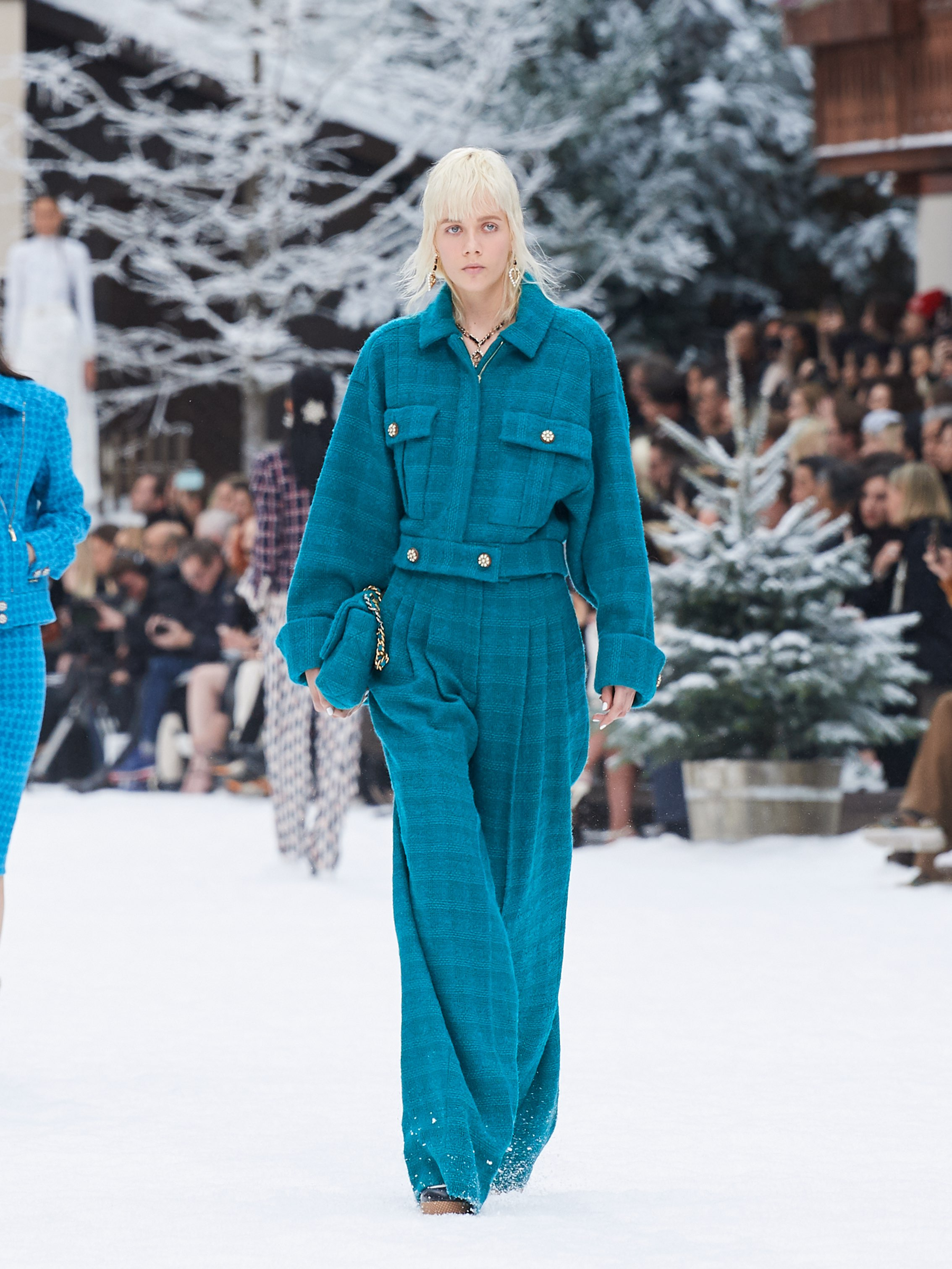 Chanel AW19 Paris Fashion Week tweed co-ord