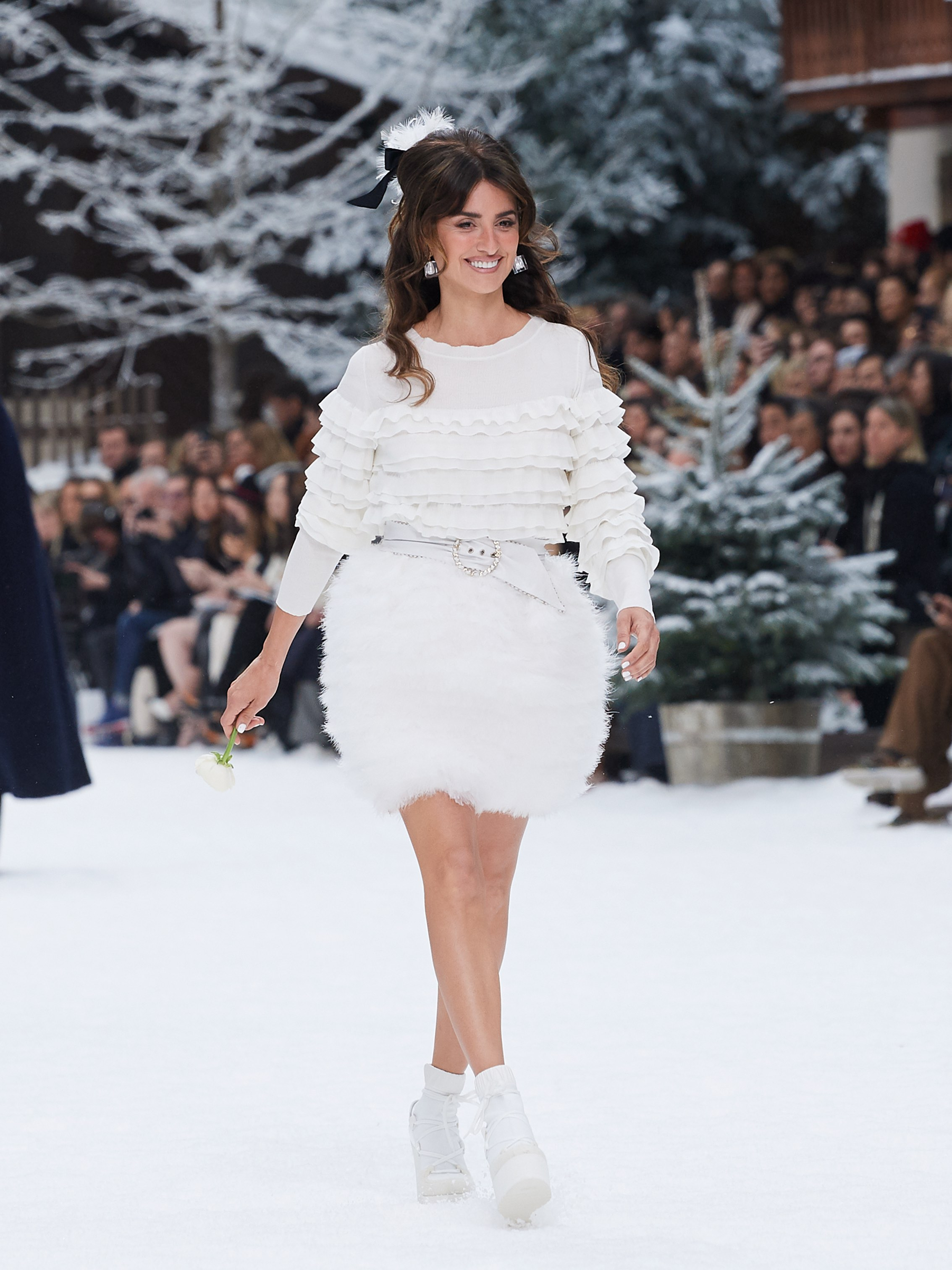 Chanel AW19 Paris Fashion Week Penelope Cruz
