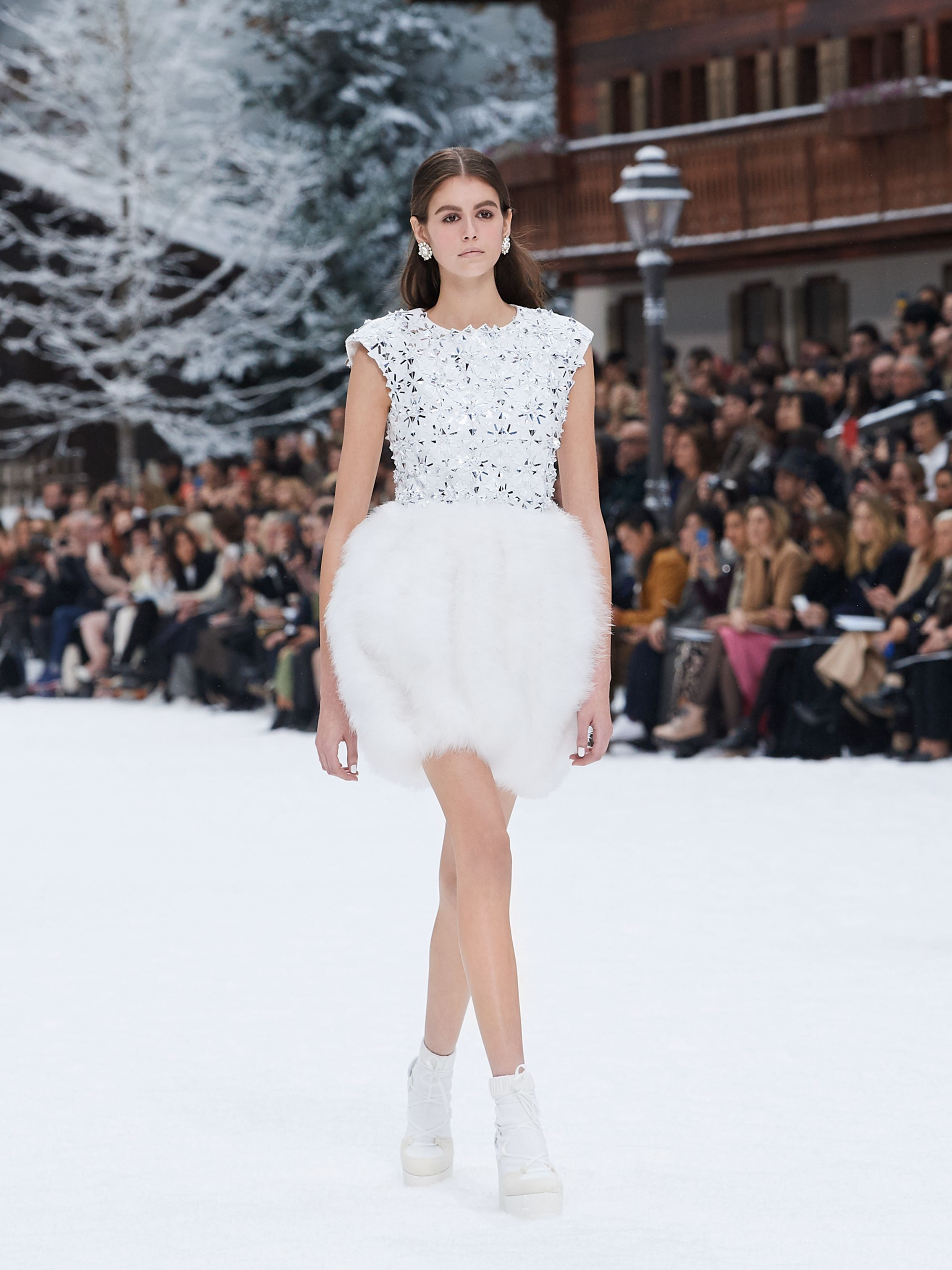 Chanel AW19 Paris Fashion Week Kaia Gerber