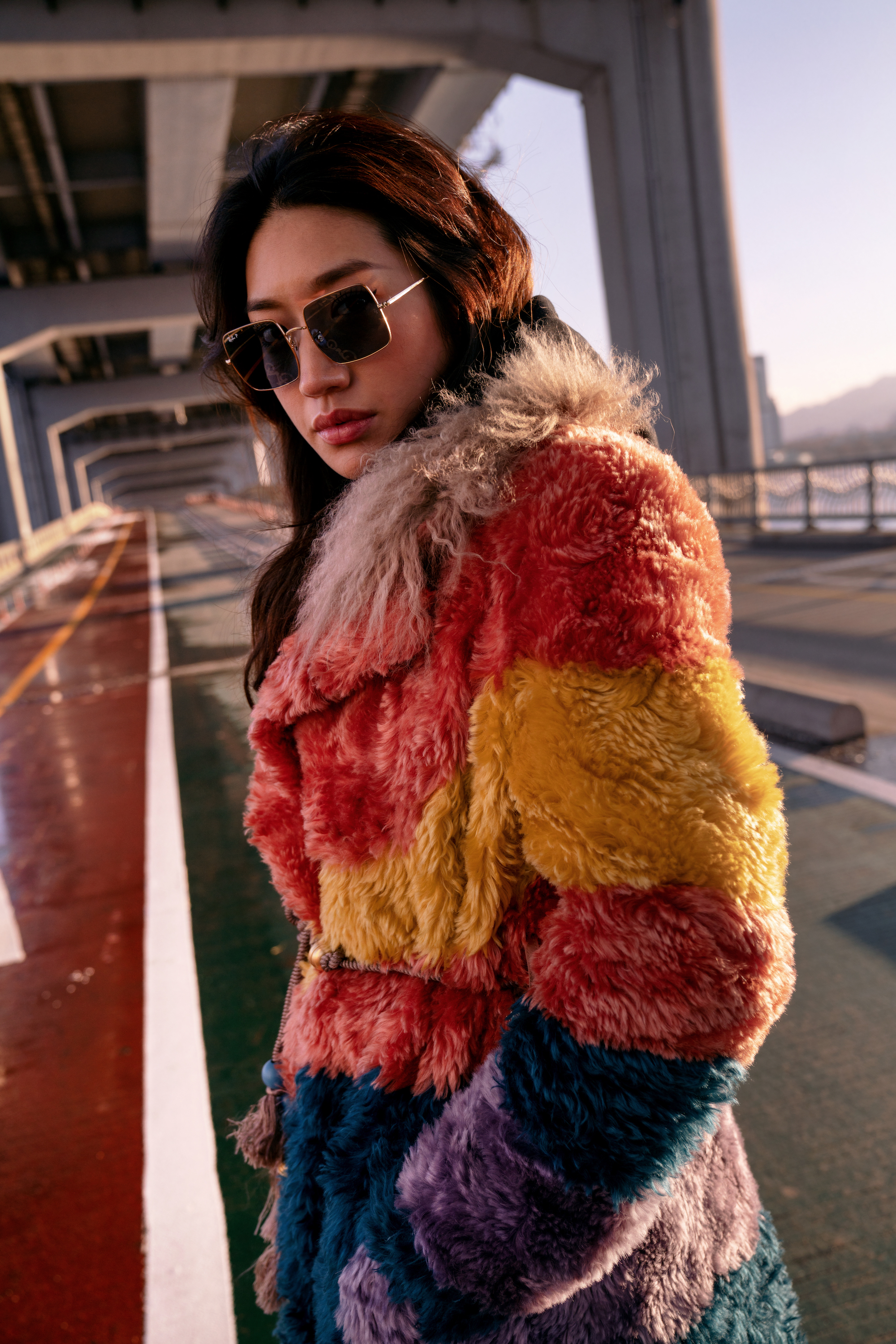Dj Peggy Gou Has Teamed Up With Ray Ban For A Sunglasses