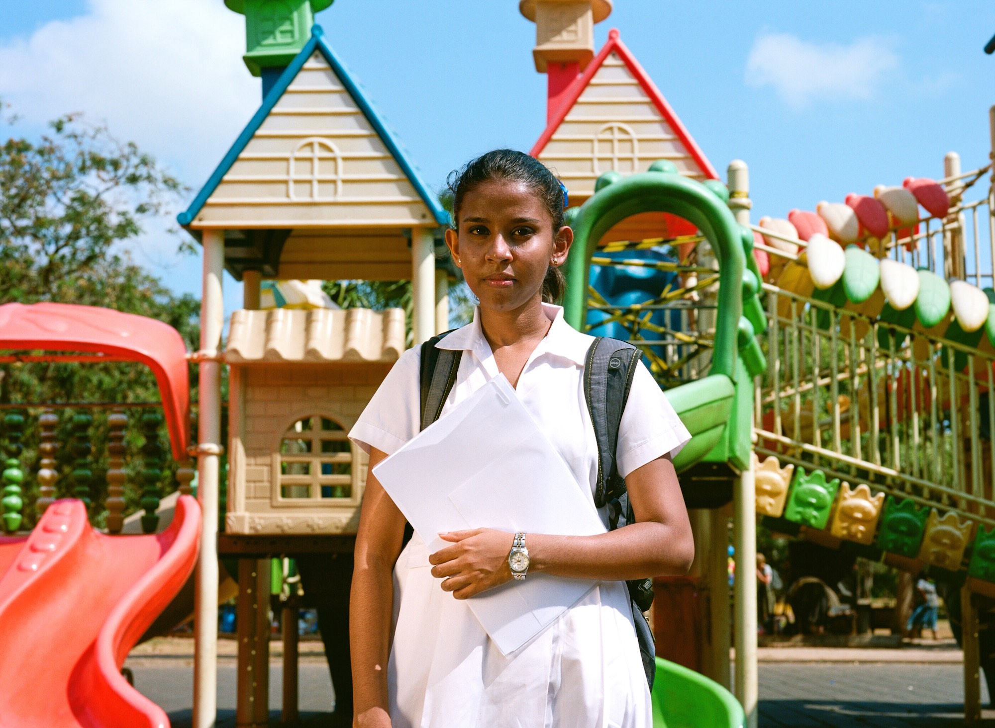 Eliza Hatch's documentary project Cheer Up Luv in Sri Lanka