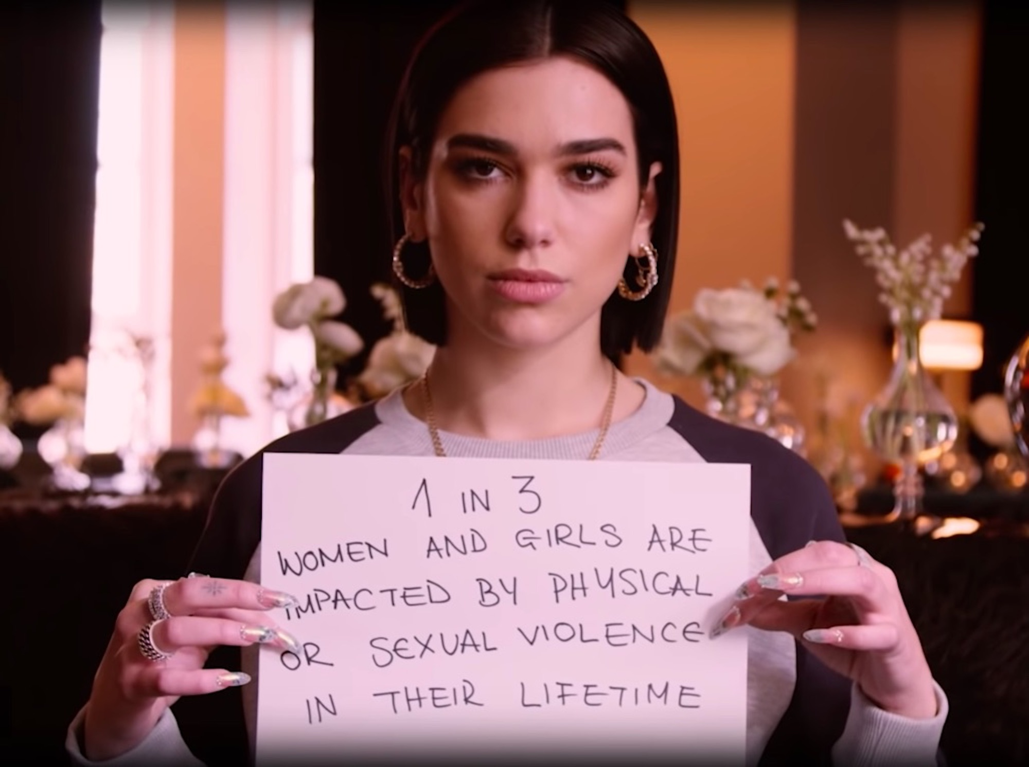 Dua Lipa for International Women's Day