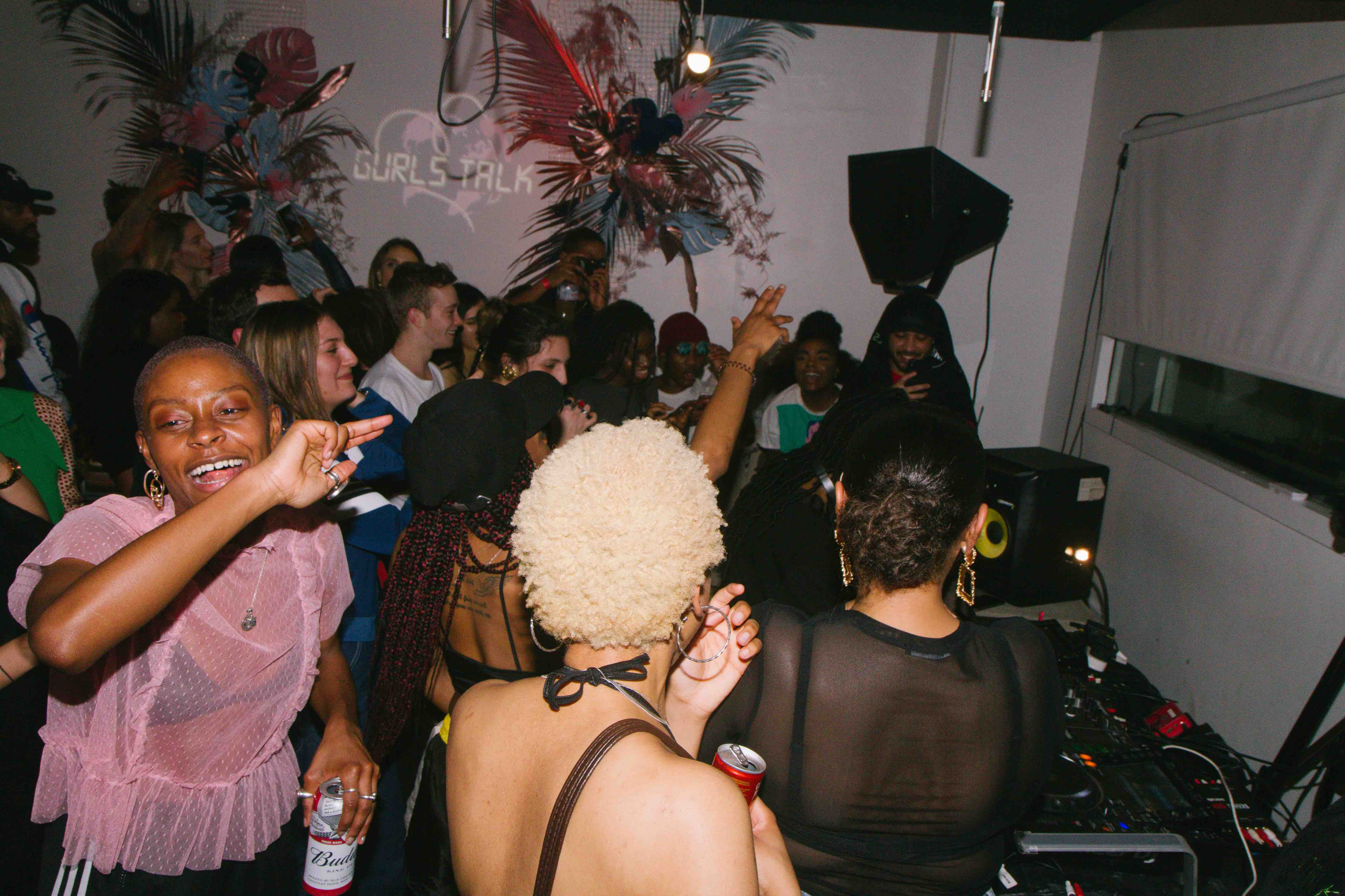 Gurls Talk Adwoa Aboah international women's day gig