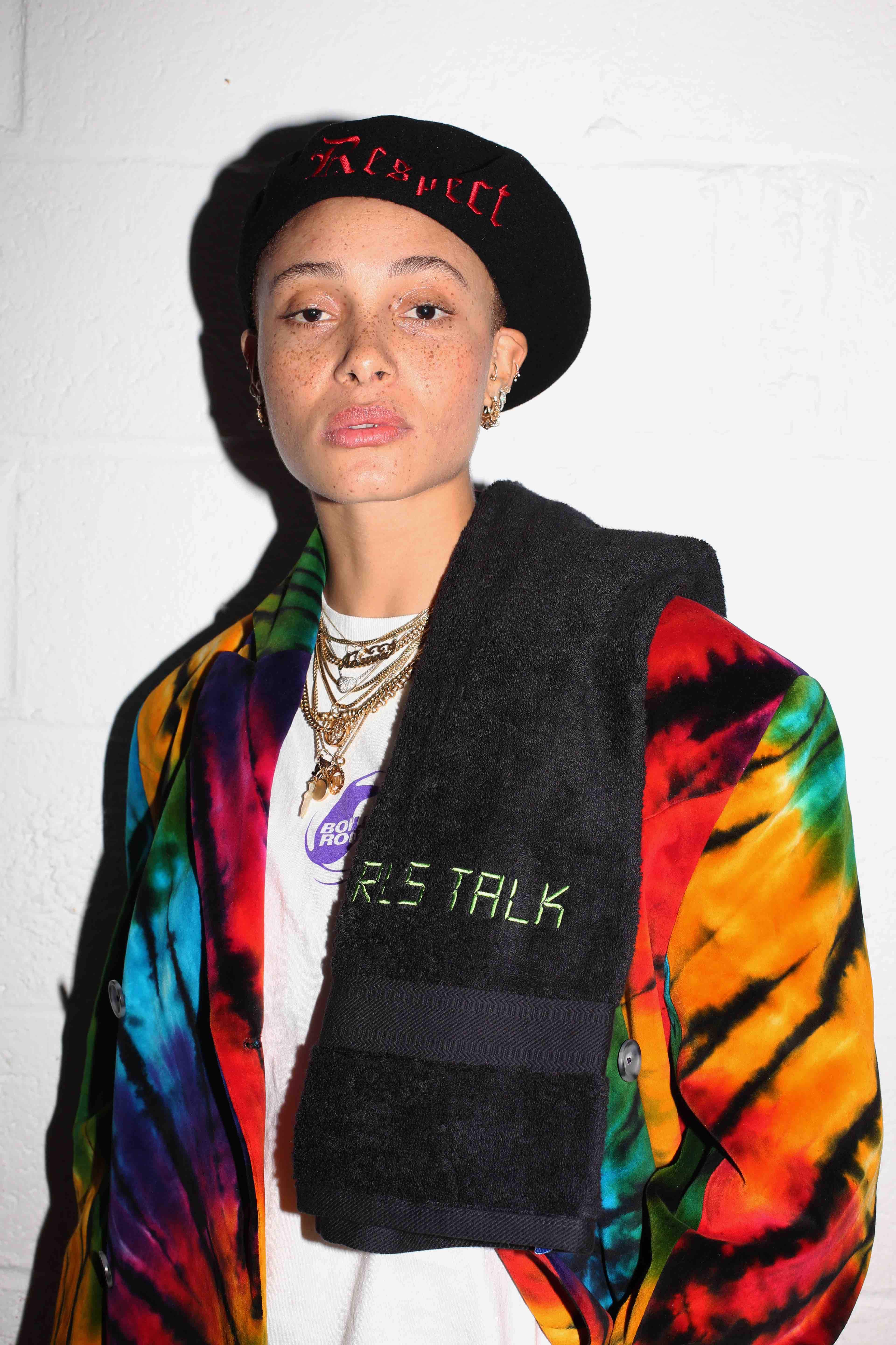 Adwoa Aboah International Women's day boiler room gig