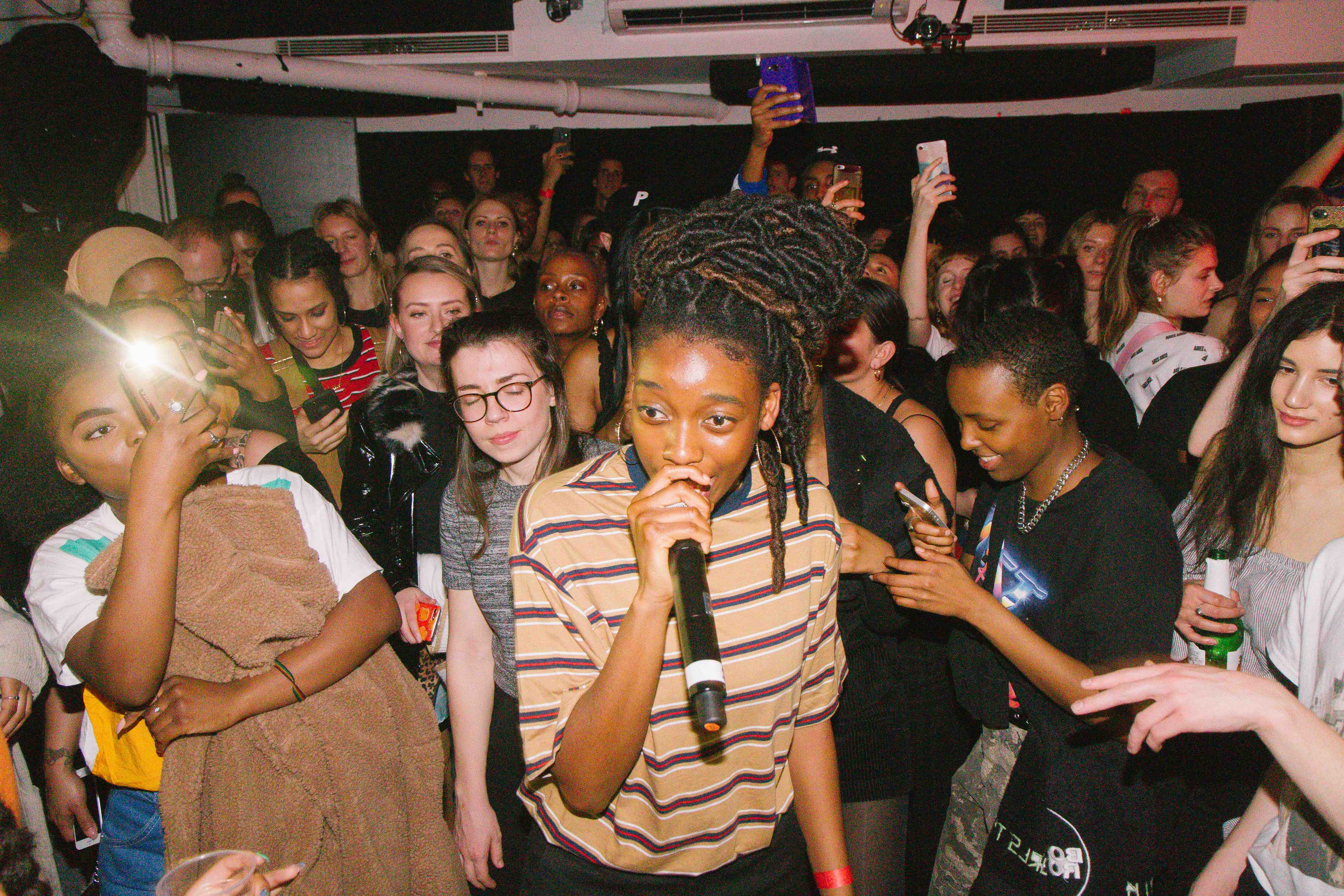 Gurls Talk Little Simz Adwoa Aboah international women's day gig