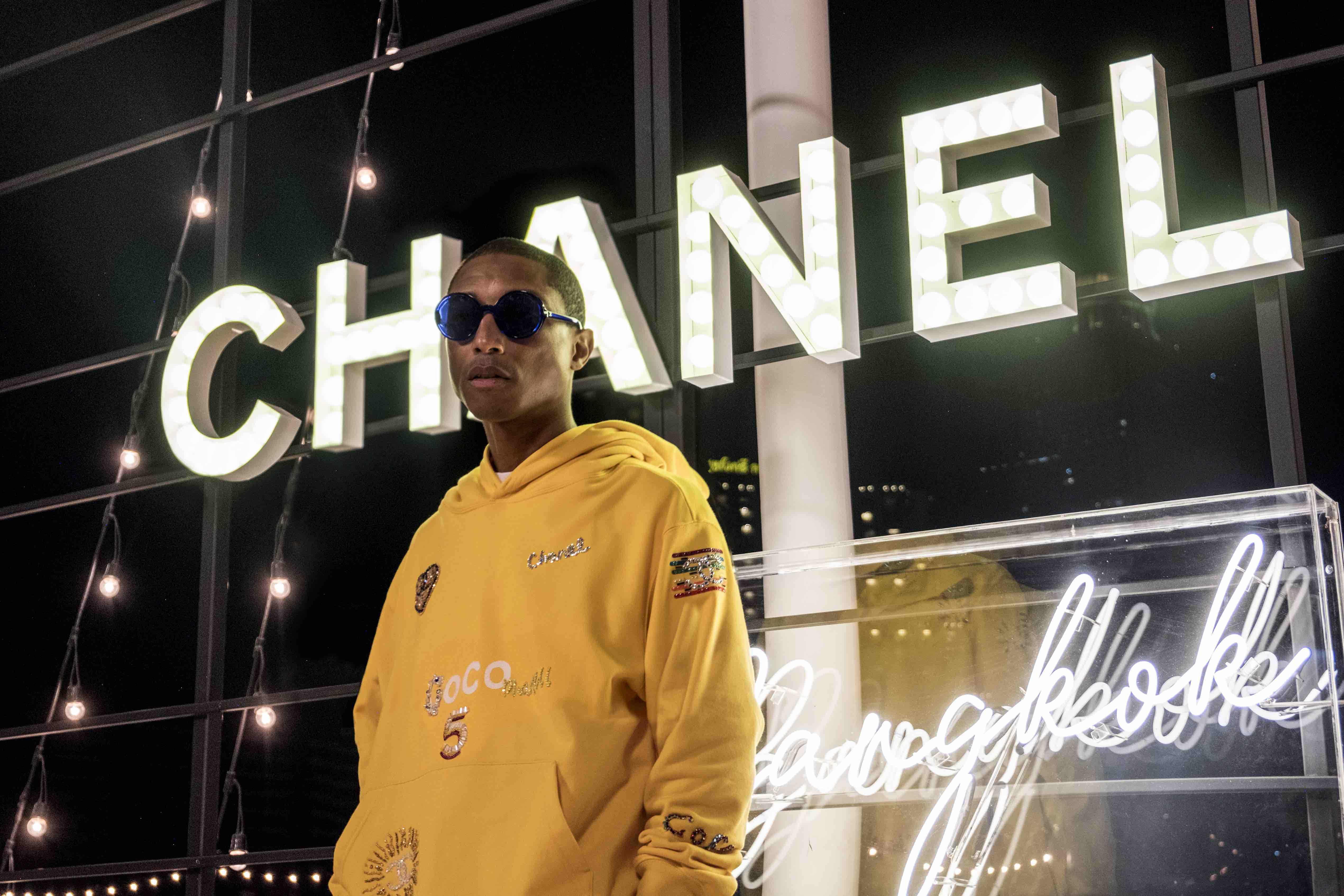 Chanel Pharrell collaboration capsule collection film