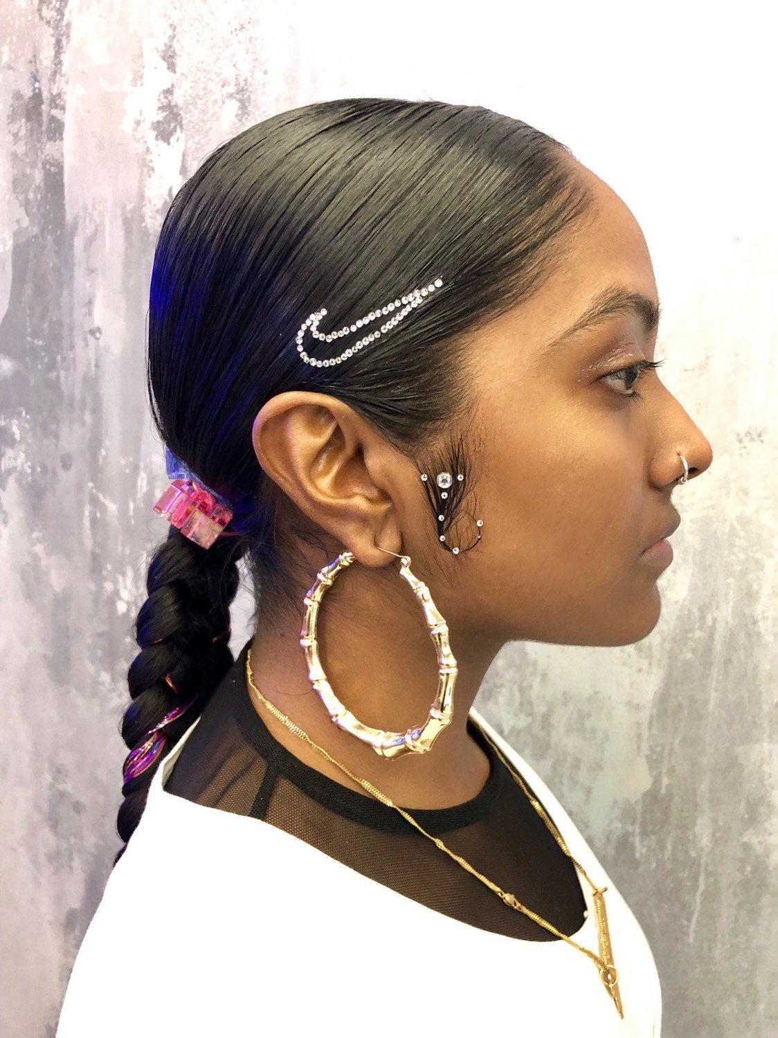 nike keash braids london hair gems