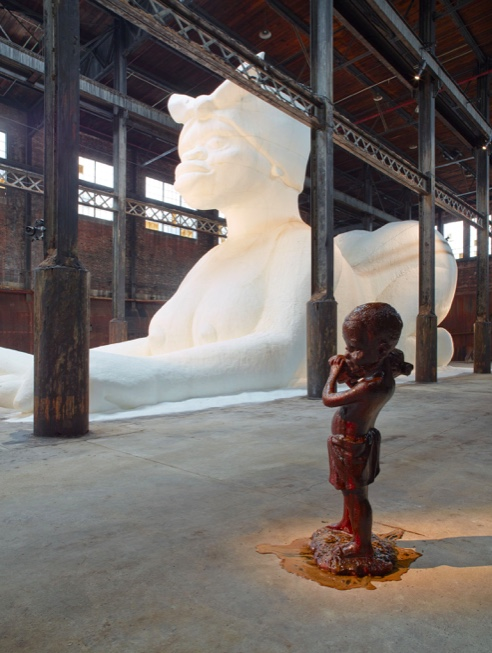 Kara Walker installation A Subtlety Marvelous Sugar Baby