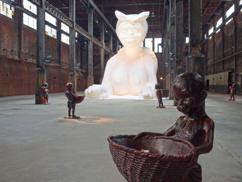Kara Walker artist installation