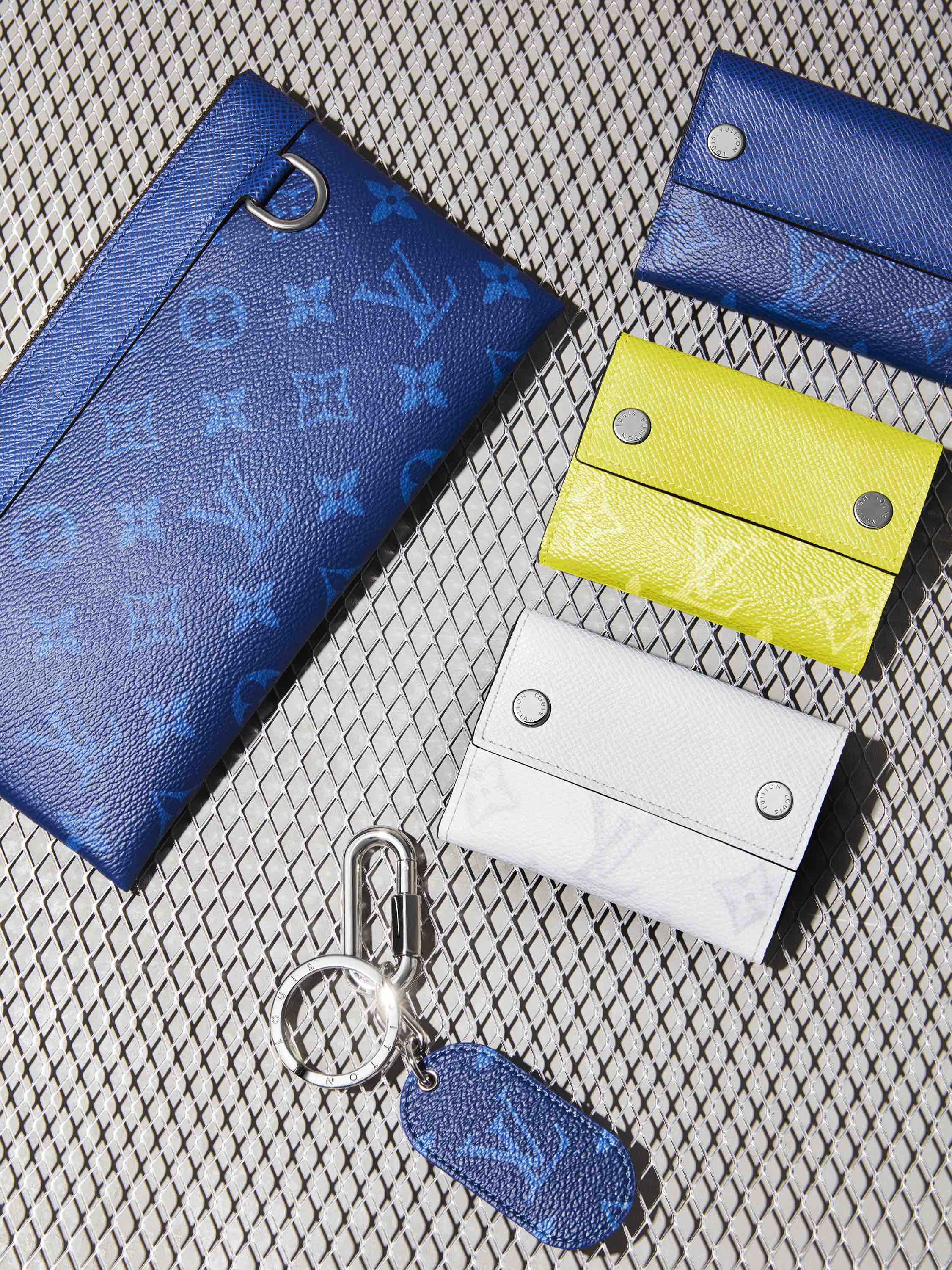 Louis Vuitton Taigarama Collection pouches card holders
