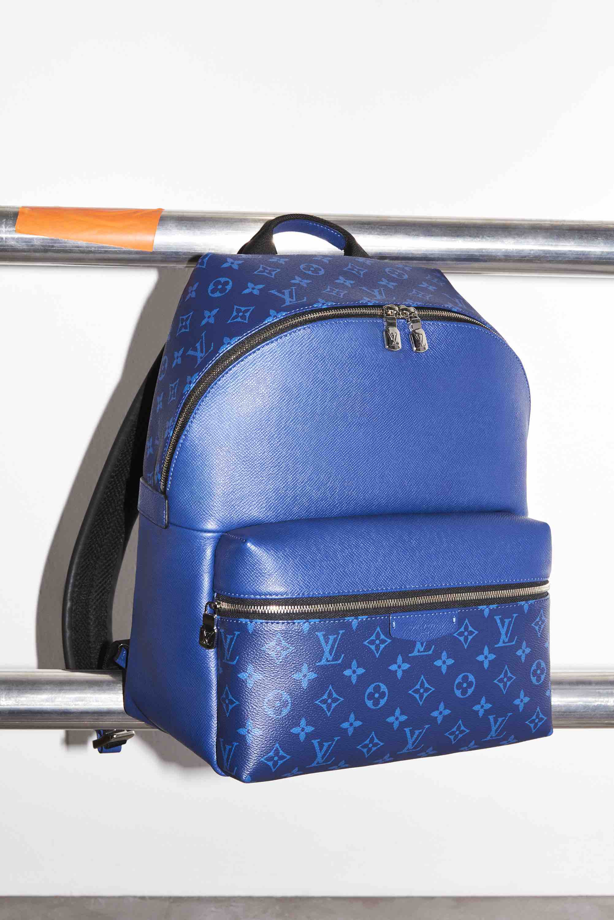 Louis Vuitton Taigarama Collection blue backpack