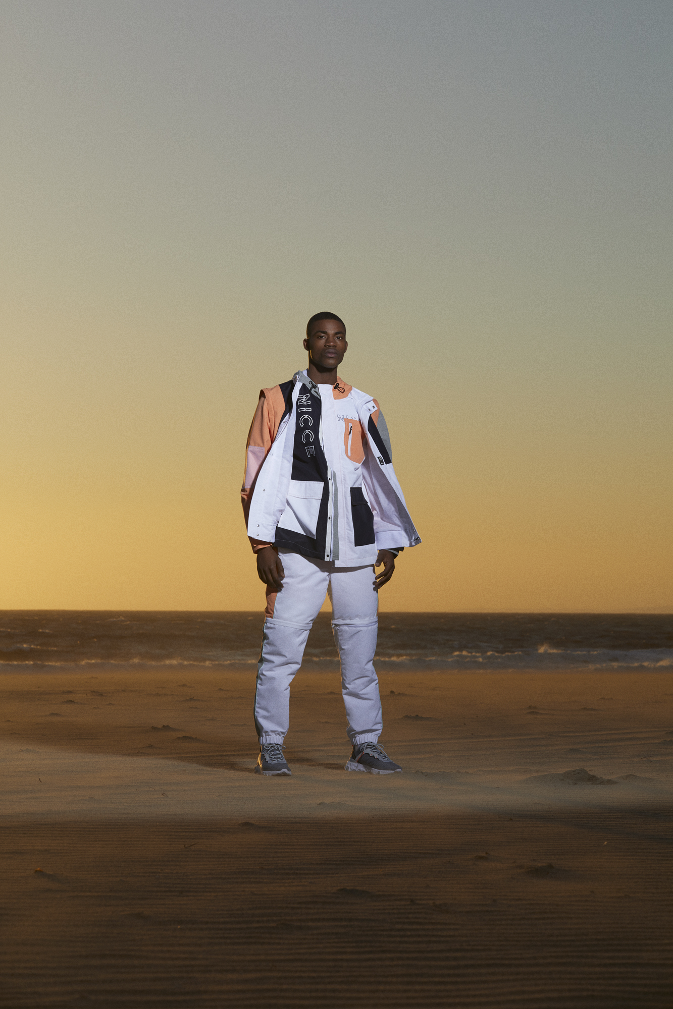 NICCE's new limited edition capsule collection White Label colour-block