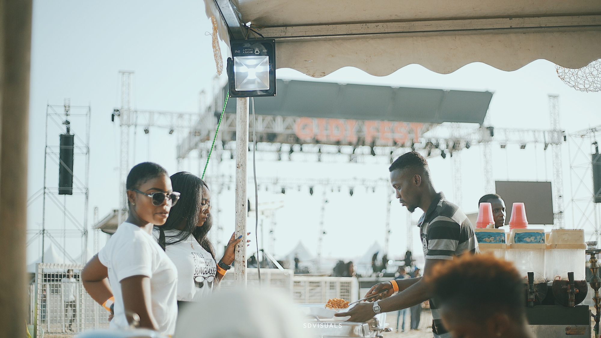 Gidi Culture Festival in Lagos food