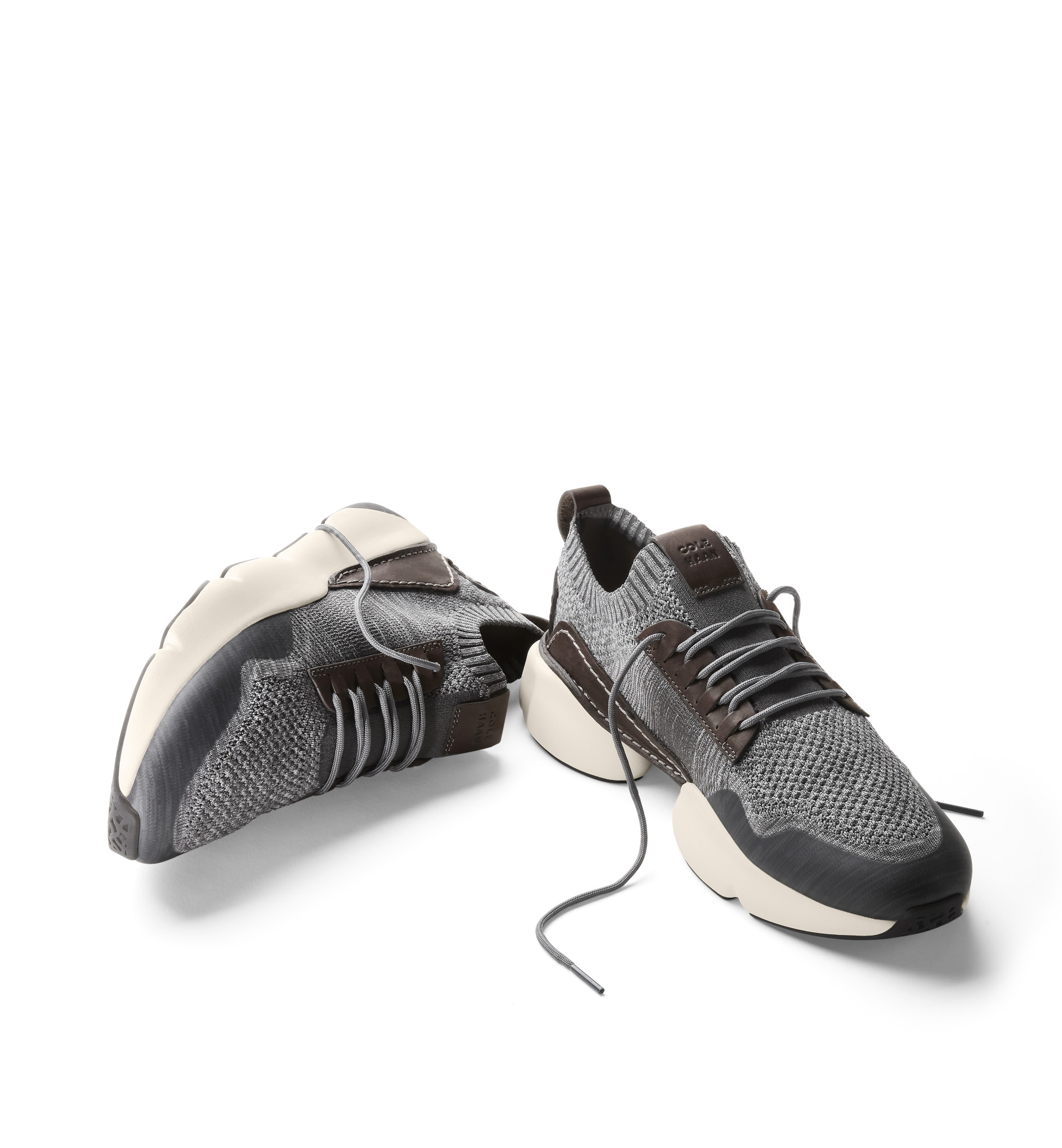 Cole Haan SS19 Zerogrand trainer grey laces