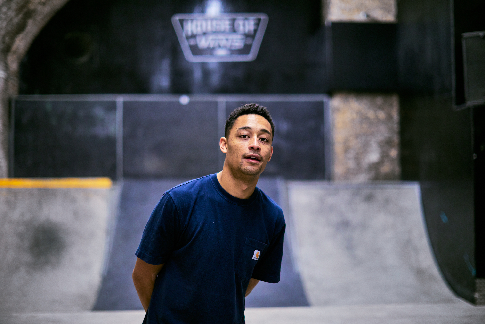 Loyle Carner for House of Vans
