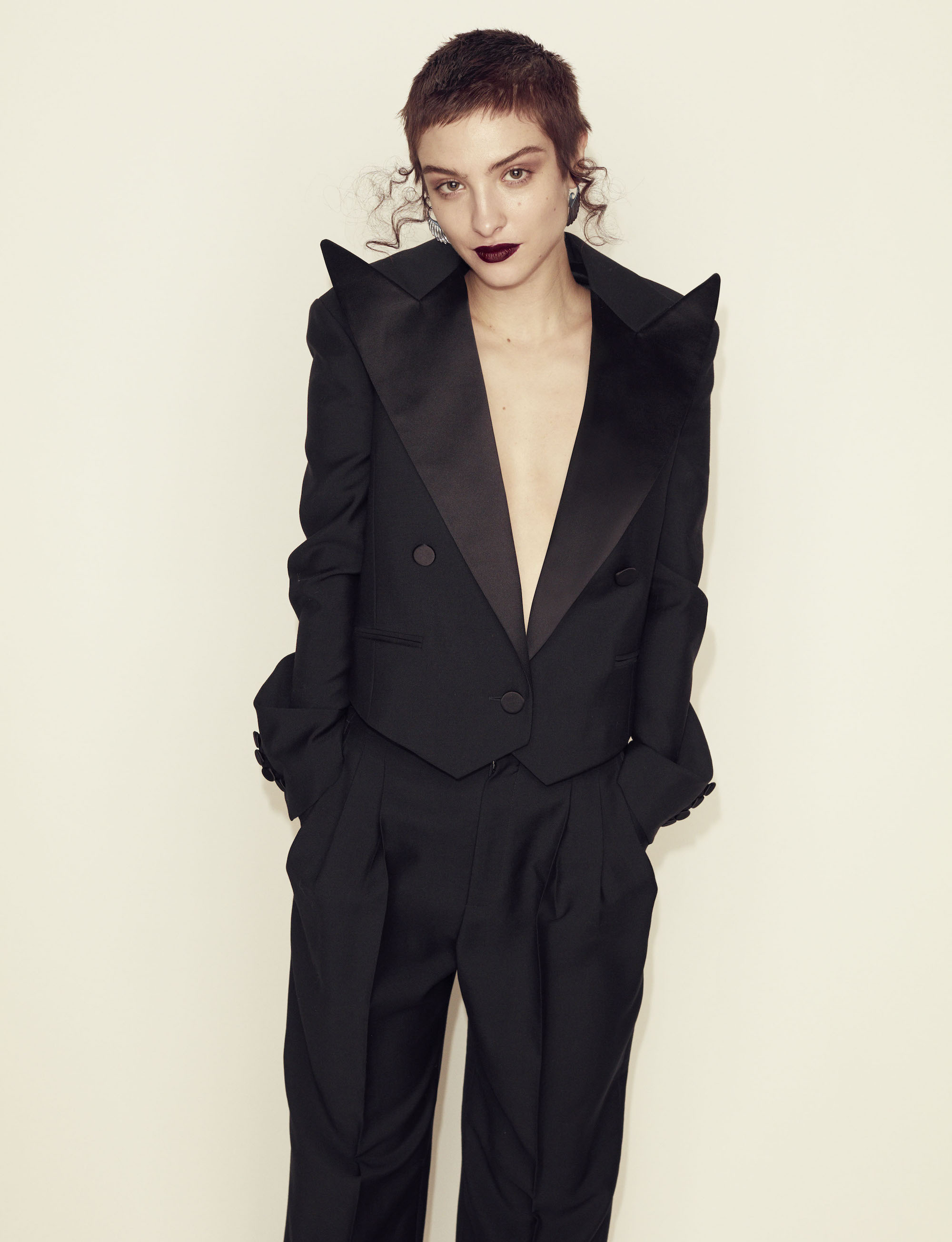 Metal Guru fashion editorial tuxedo