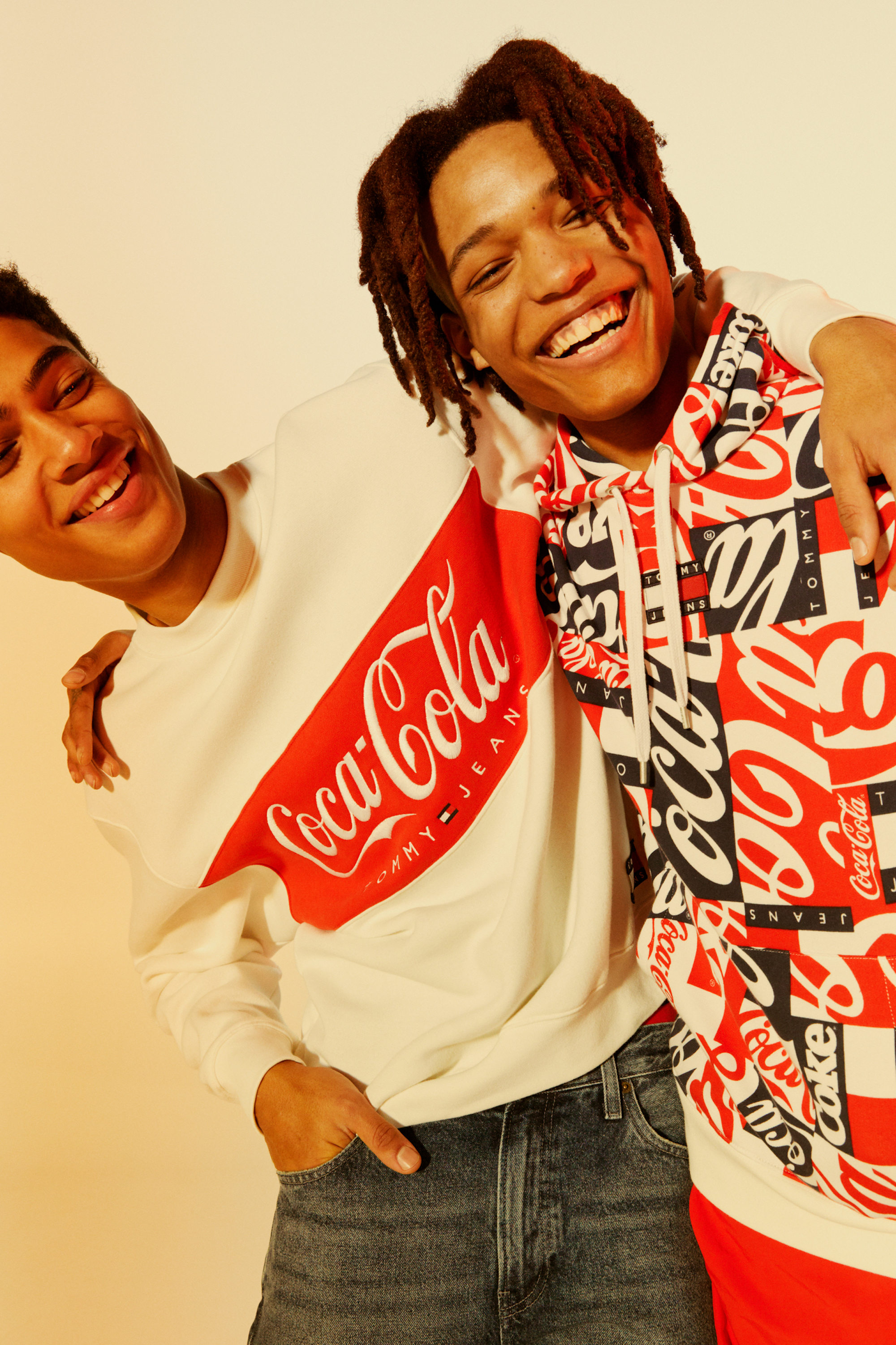 Tommy Hilfiger launches Tommy Jeans Coca-Cola collection jersey tops