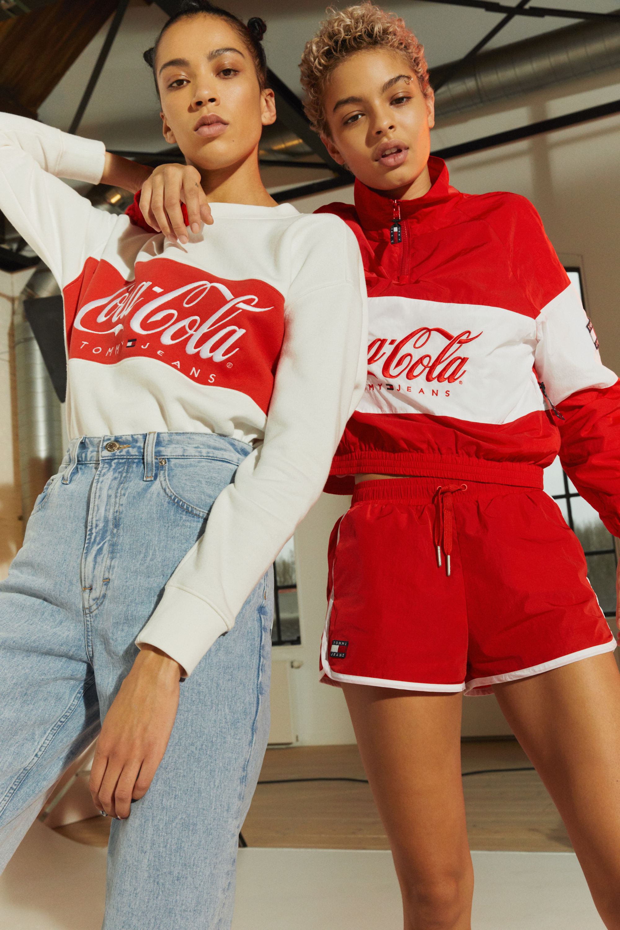 Tommy Hilfiger launches Tommy Jeans Coca-Cola collection two models