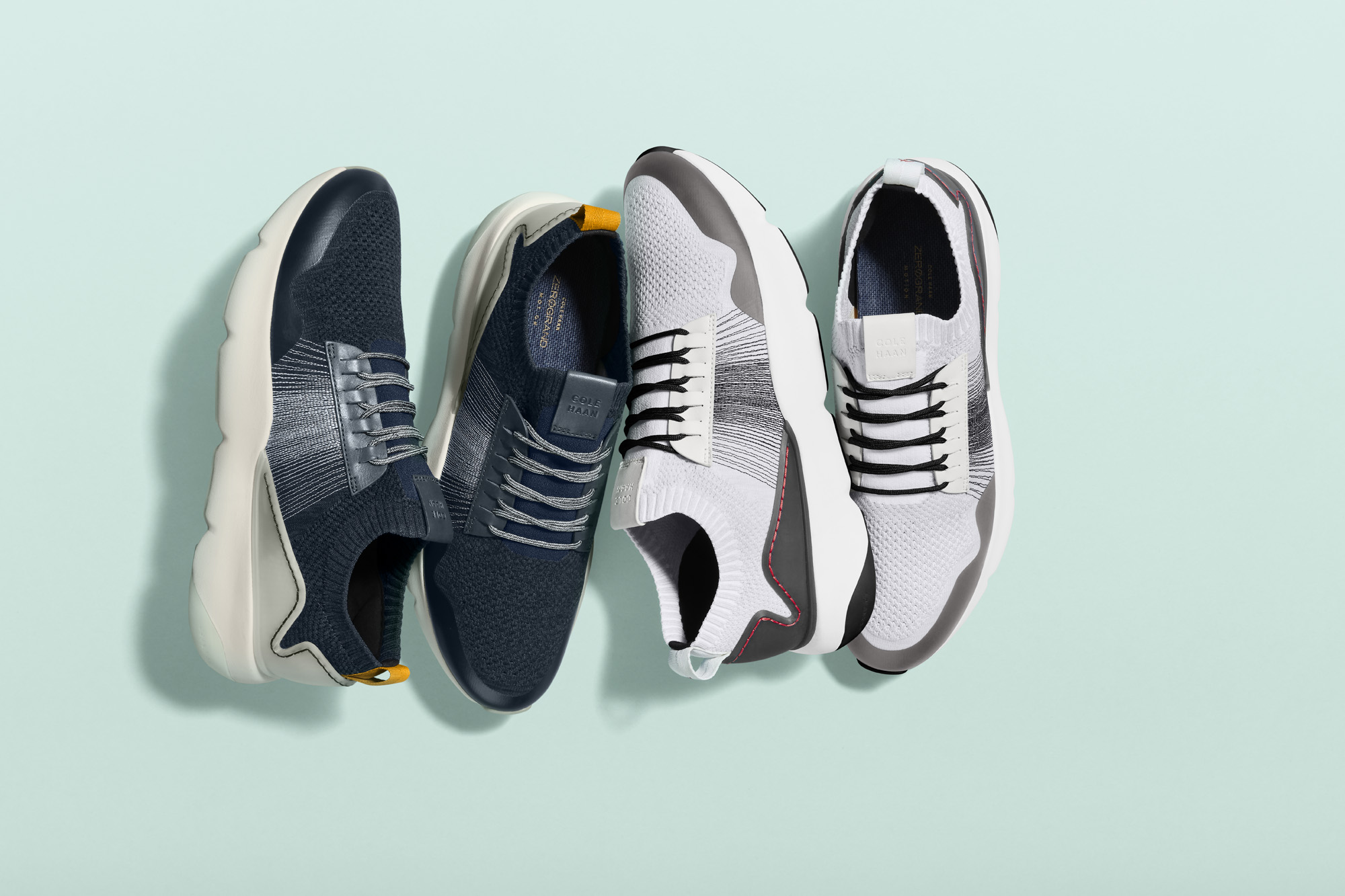 Cole Haan SS19 Zerogrand trainer group shot