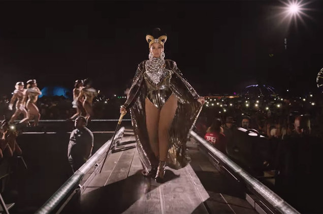 Beyonce Homecoming trailer still