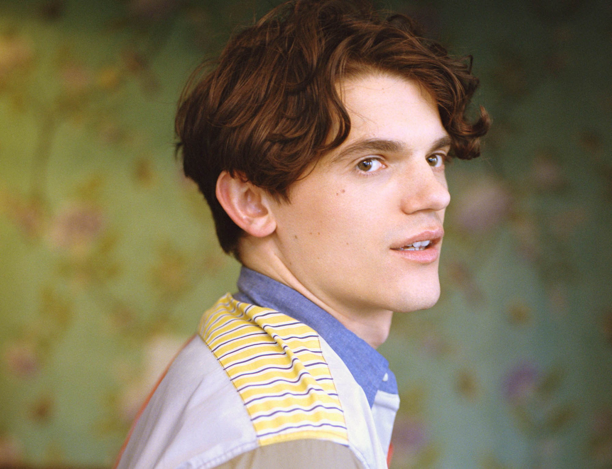 Edward Bluemel Killing Eve interview from the Spring 19 issue closeup
