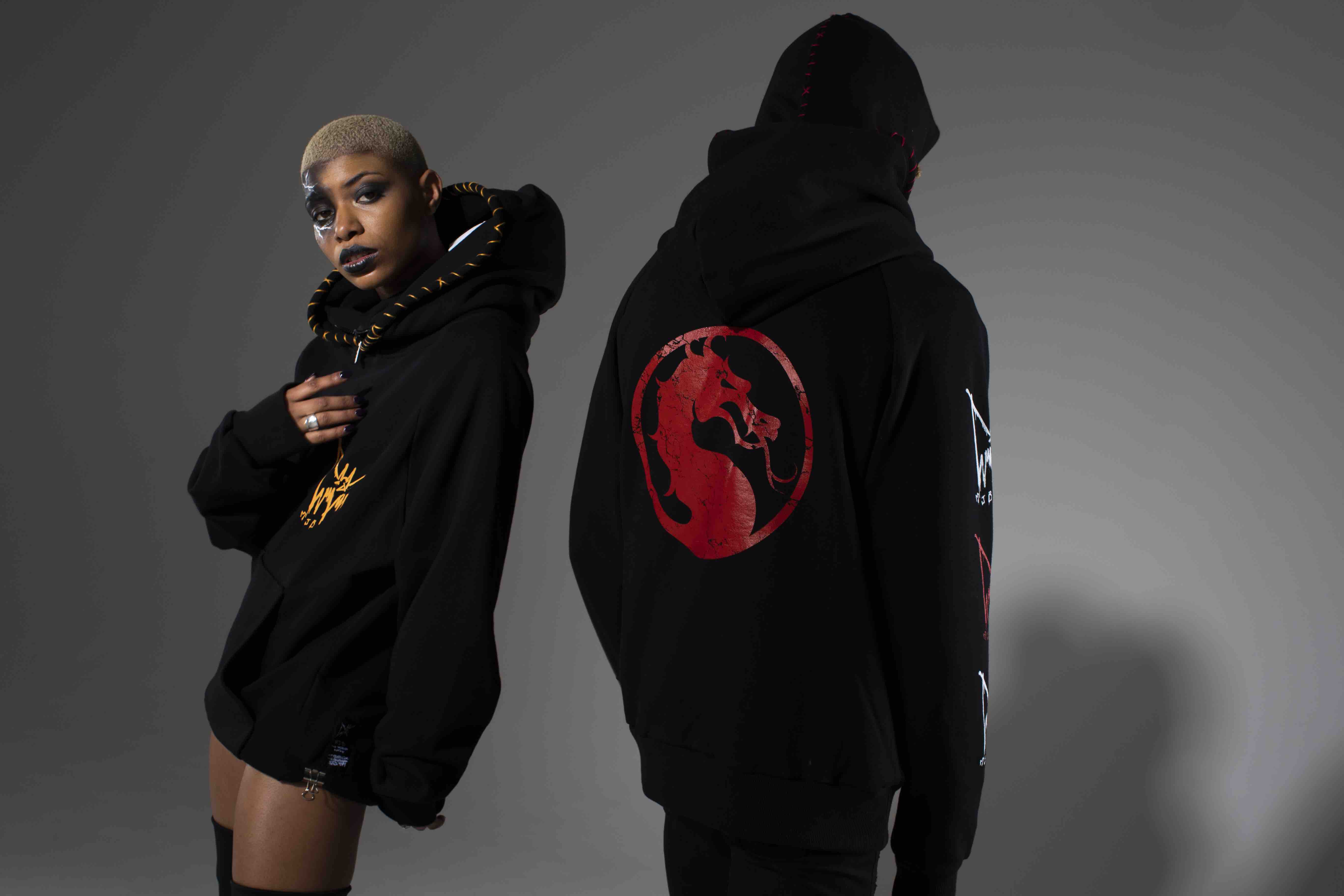 Marc Jacques Burton Mortal Kombat clothing line hoodies