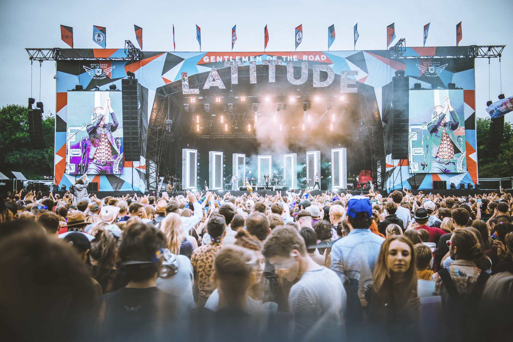latitude festival stage photo