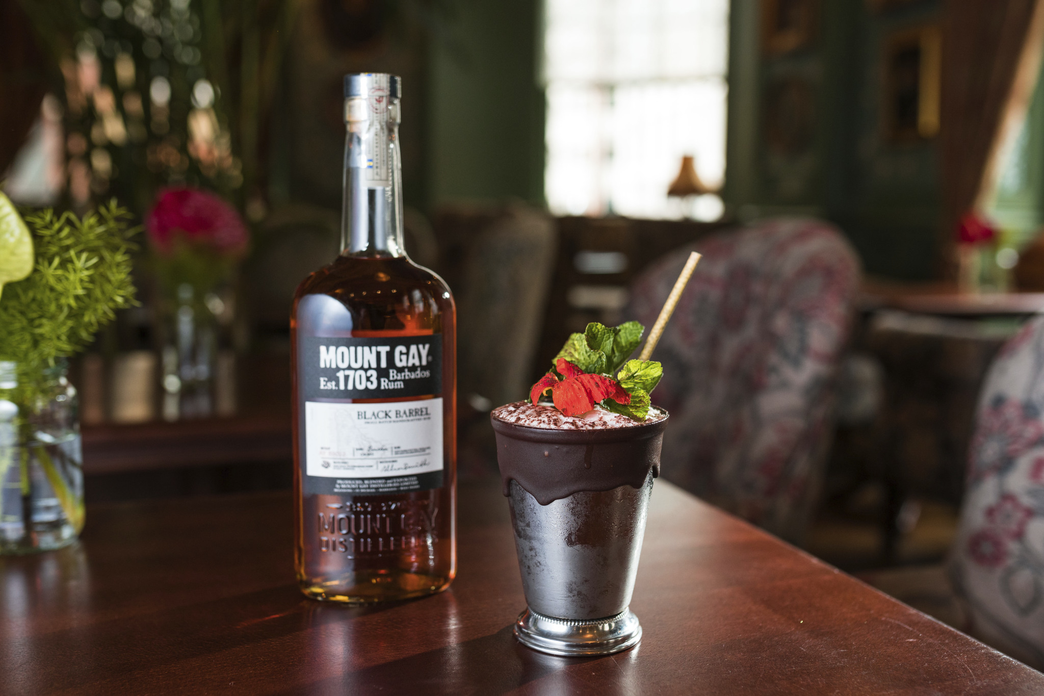 mountgay rum easter cocktails event