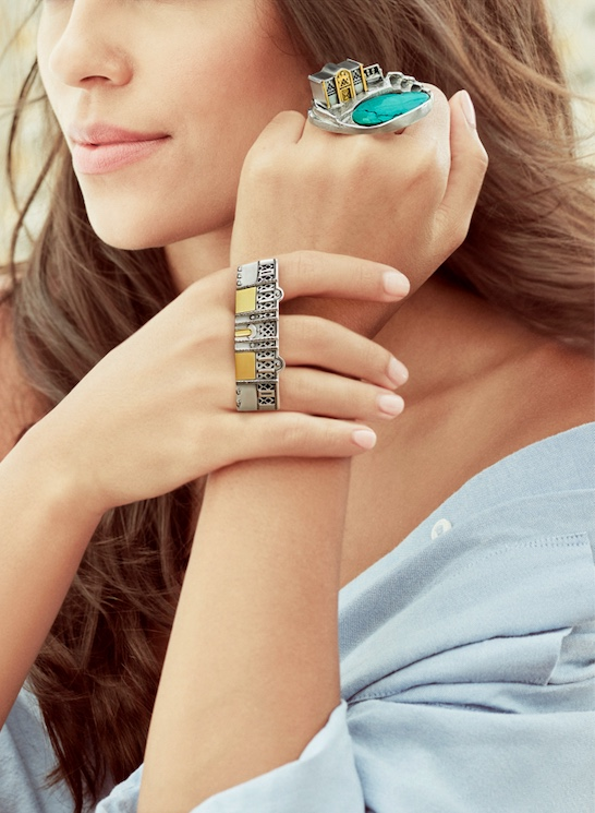 Azza Fahmy Jewellery Nubia collection architecture rings
