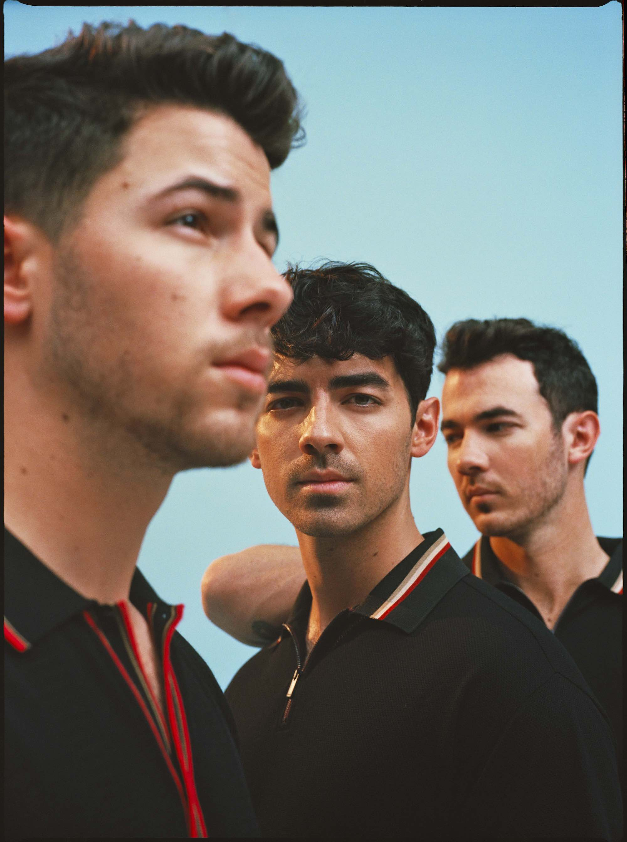 Jonas Brothers for the Summer 2019 cover of Wonderland interview different angles