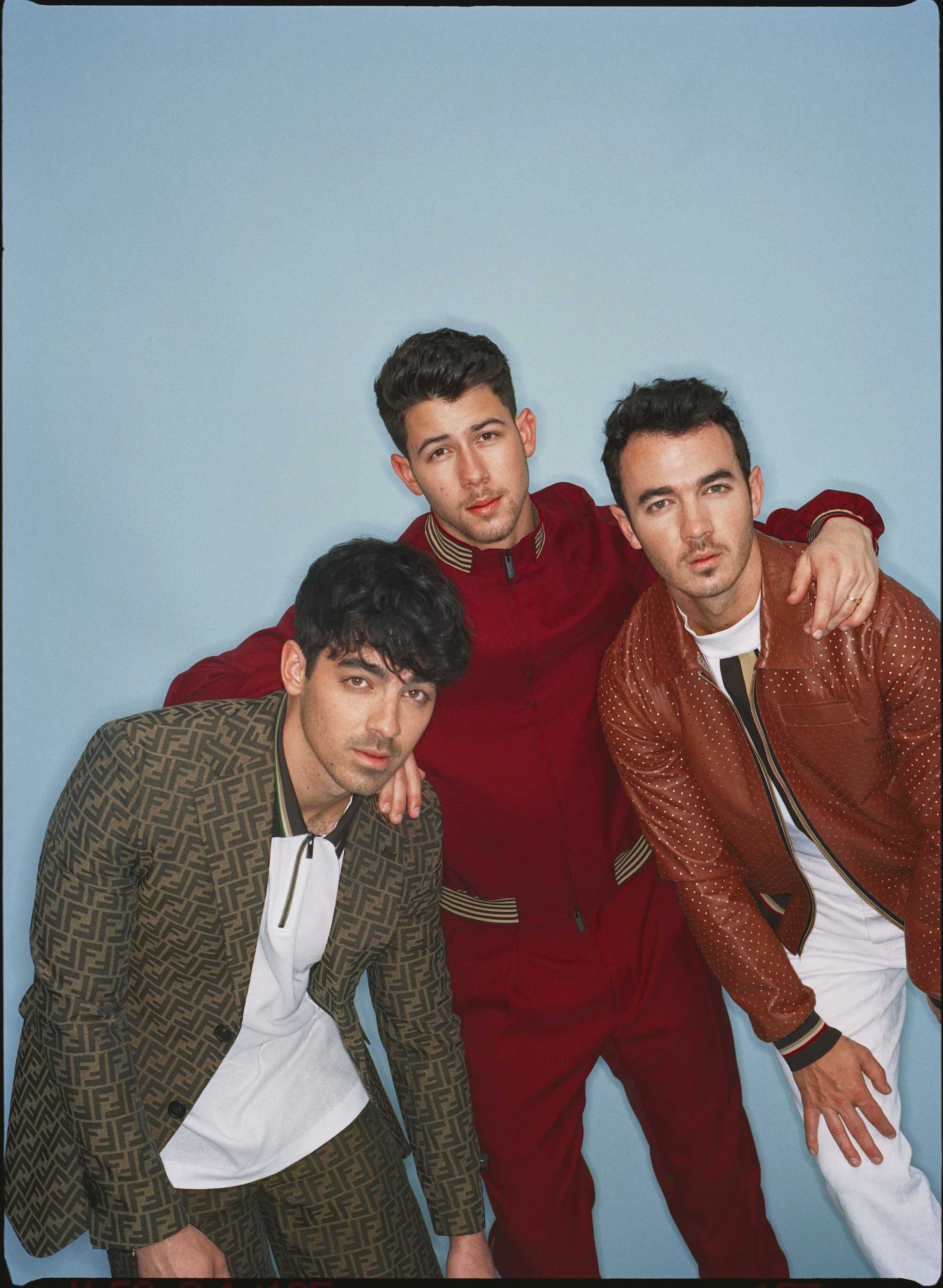 Jonas Brothers for the Summer 2019 cover of Wonderland interview boy band
