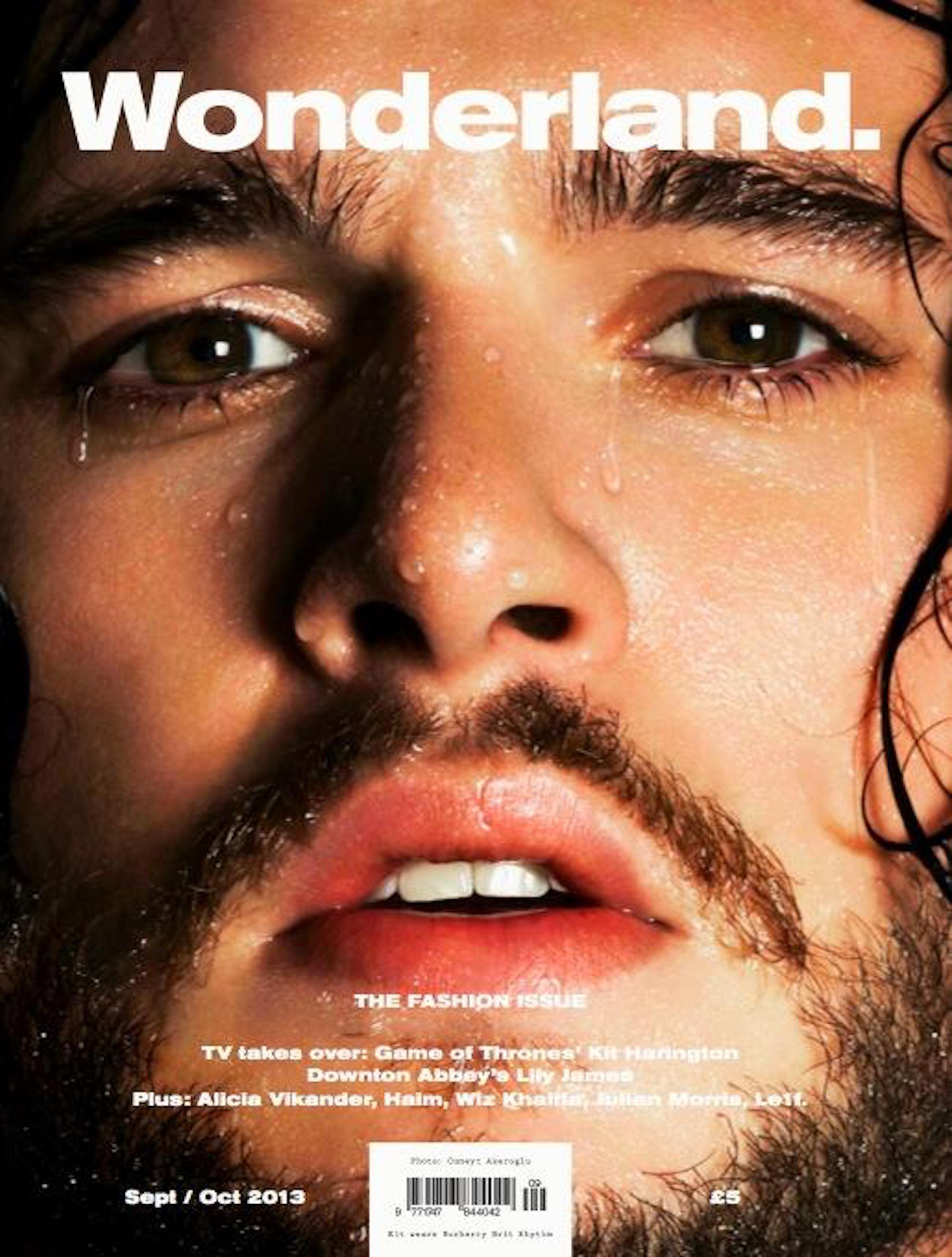 Kit Harington on the cover of Wonderland