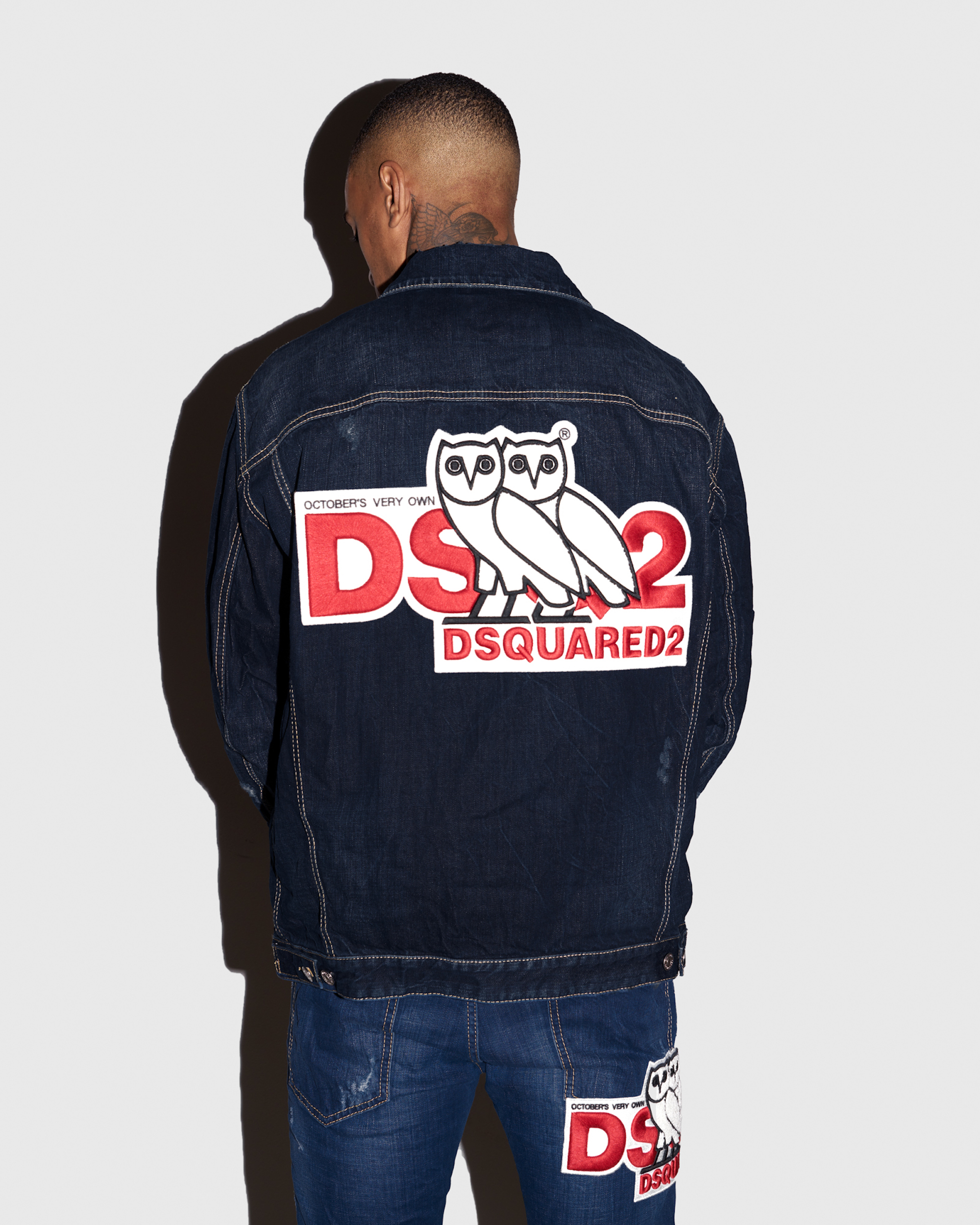 DSQUARED2 x OVO denim JACKET 3
