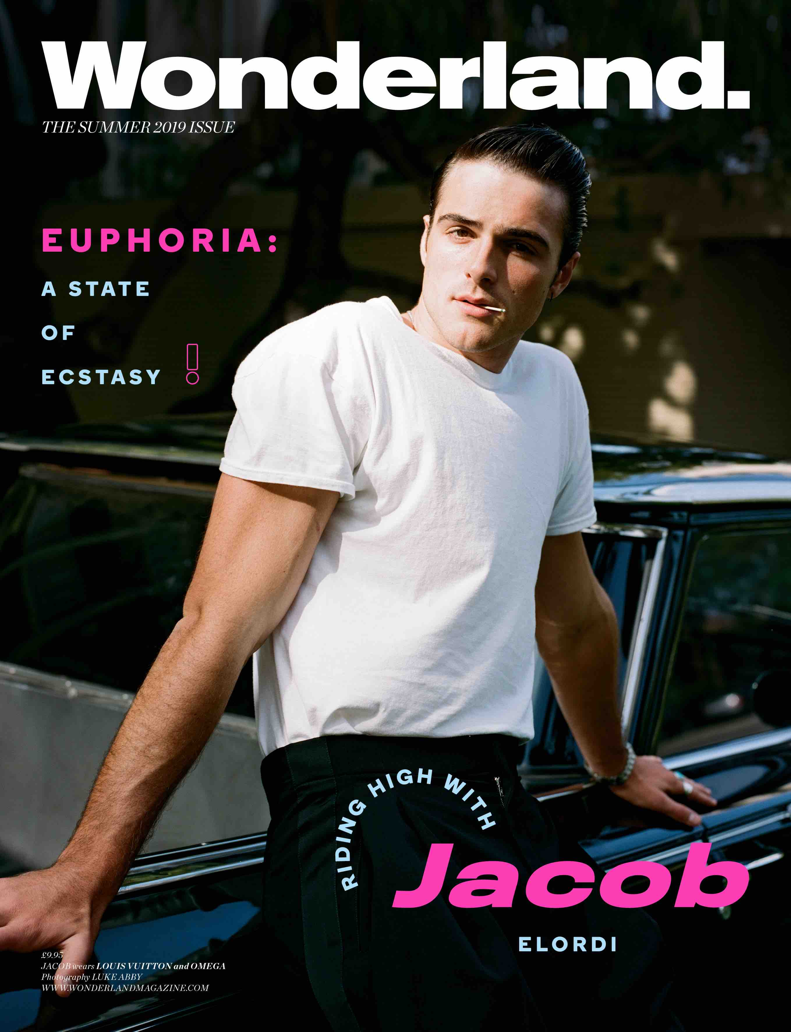 jacob elordi wonderland cover summer 2019