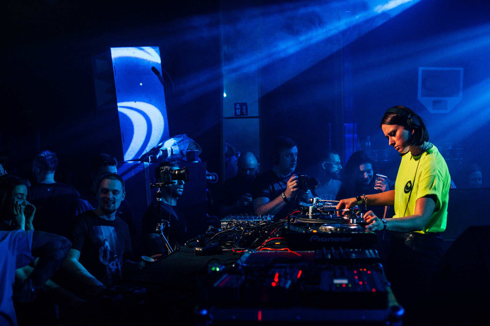 Ballantine's x Boiler Room in Krakow for True Music tour DJs side